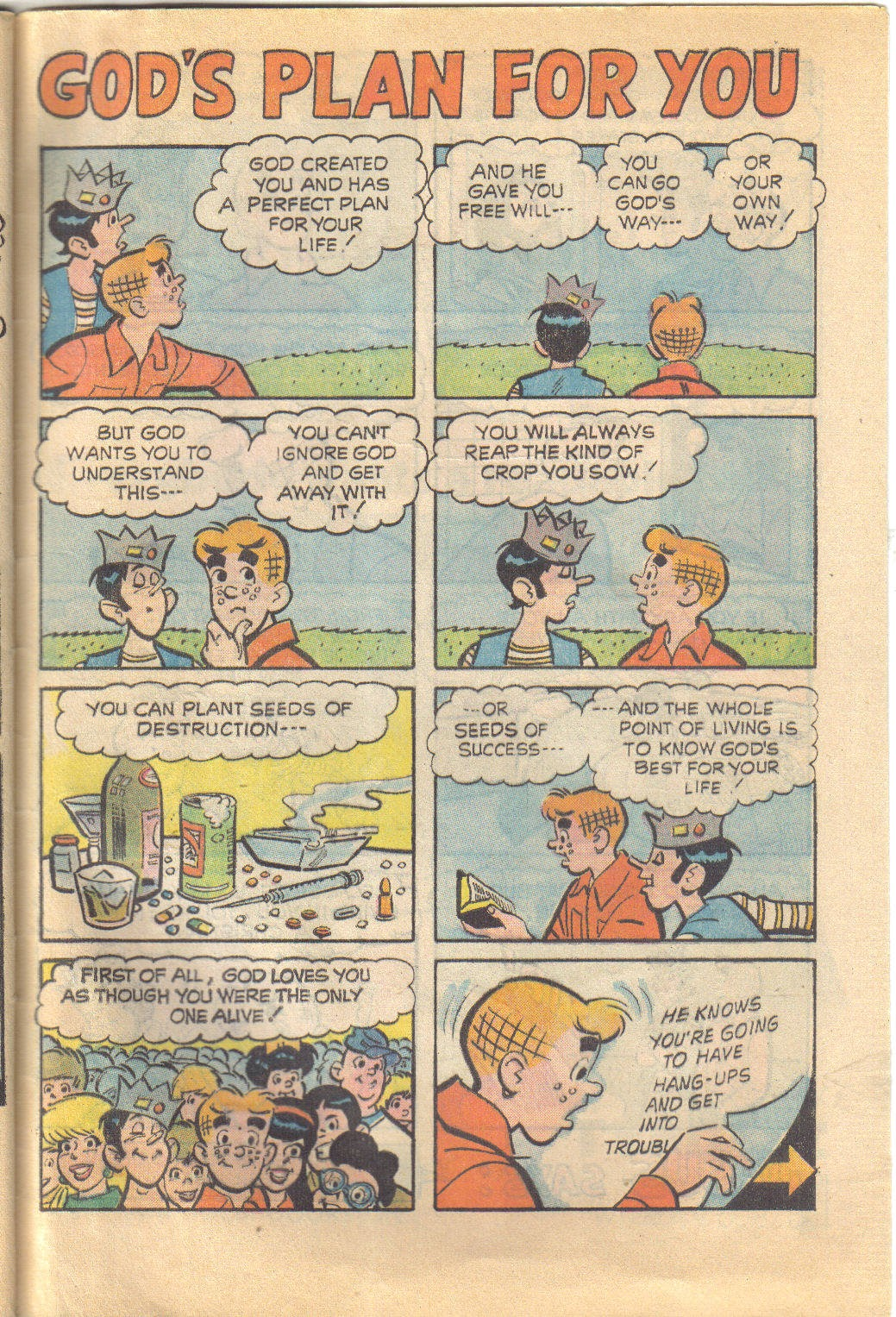 Archie's Love Scene issue Full - Page 33