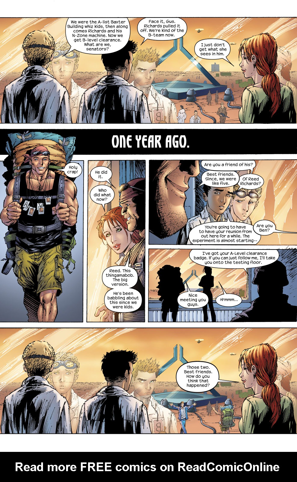 Read online Ultimate Fantastic Four (2004) comic -  Issue #58 - 10