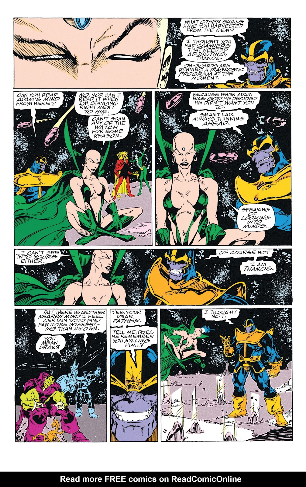 Read online Marvel Tales: Thanos comic -  Issue # Full - 56