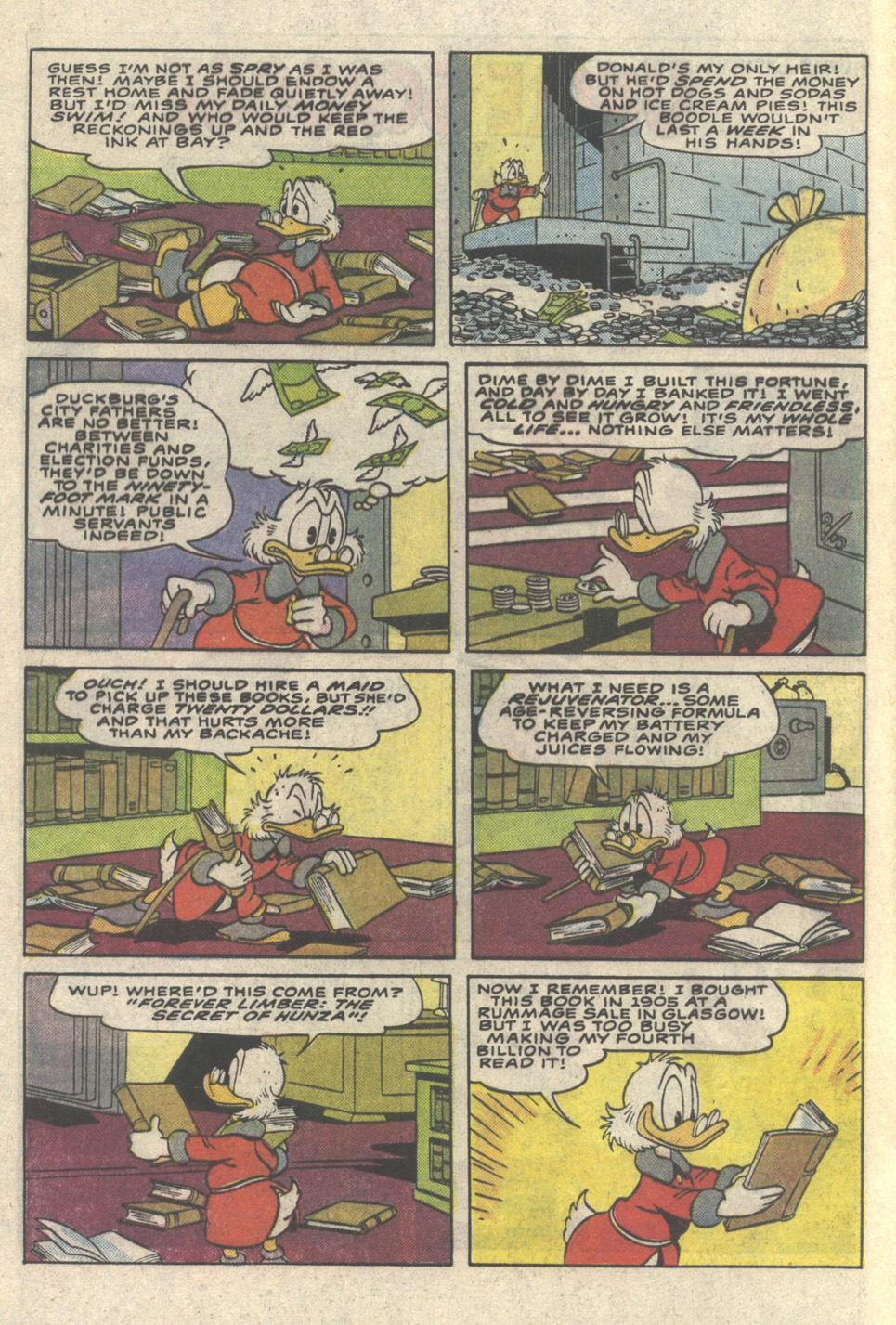 Read online Uncle Scrooge (1953) comic -  Issue #216 - 4