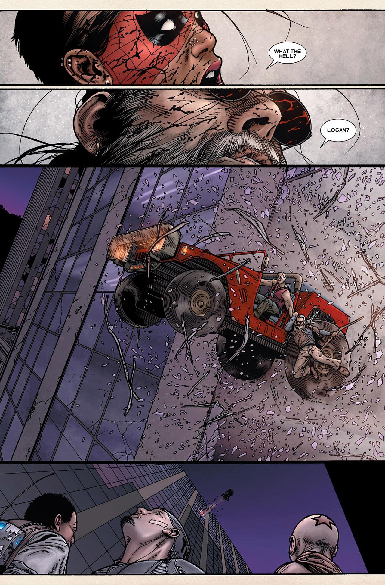 Read online Wolverine: Old Man Logan comic -  Issue # Full - 73
