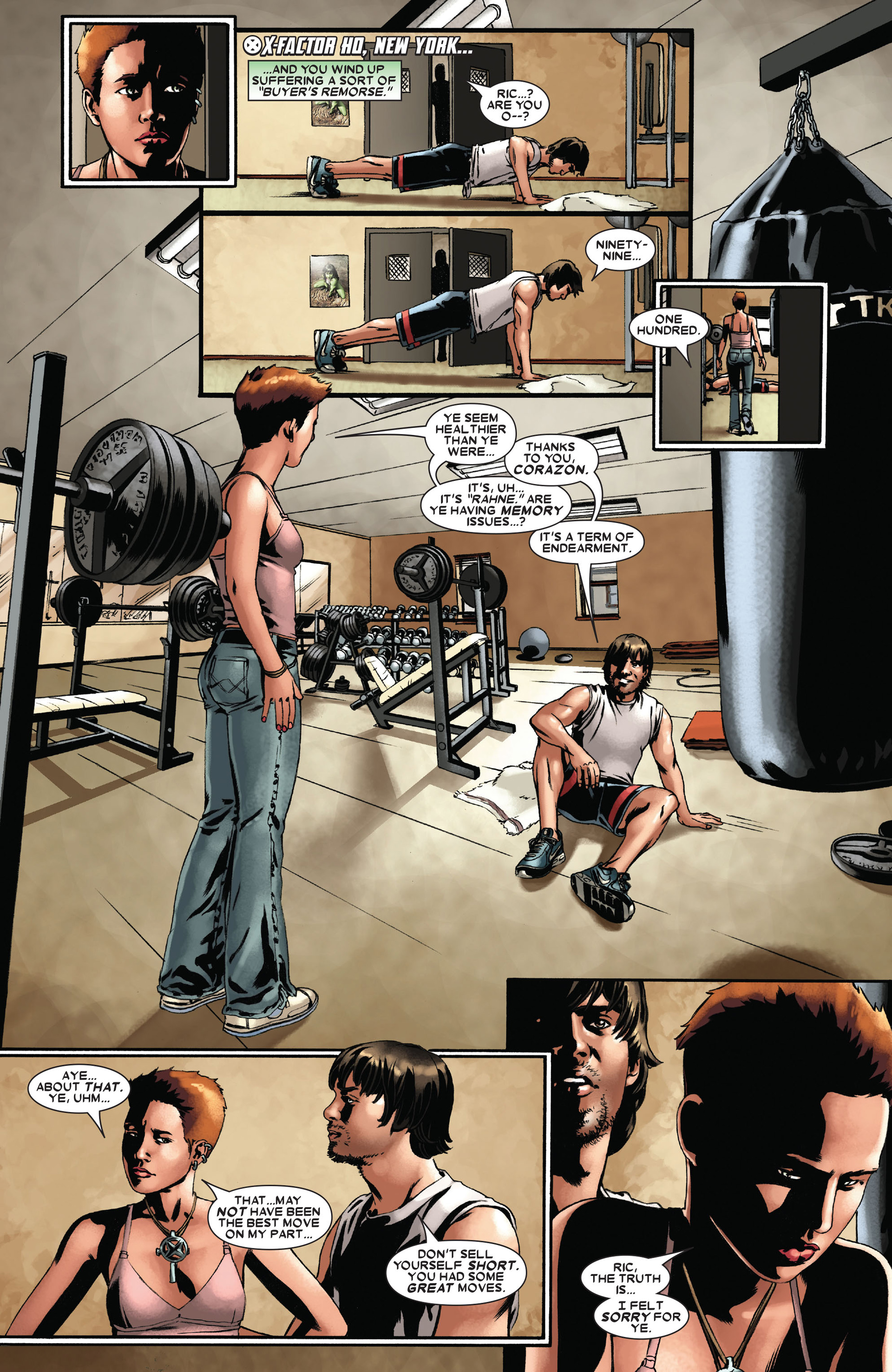 Read online X-Factor (2006) comic -  Issue #22 - 10