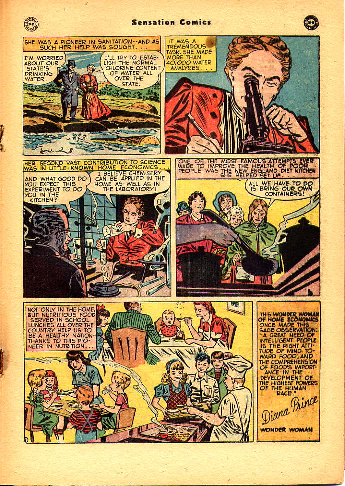 Read online Sensation (Mystery) Comics comic -  Issue #83 - 27