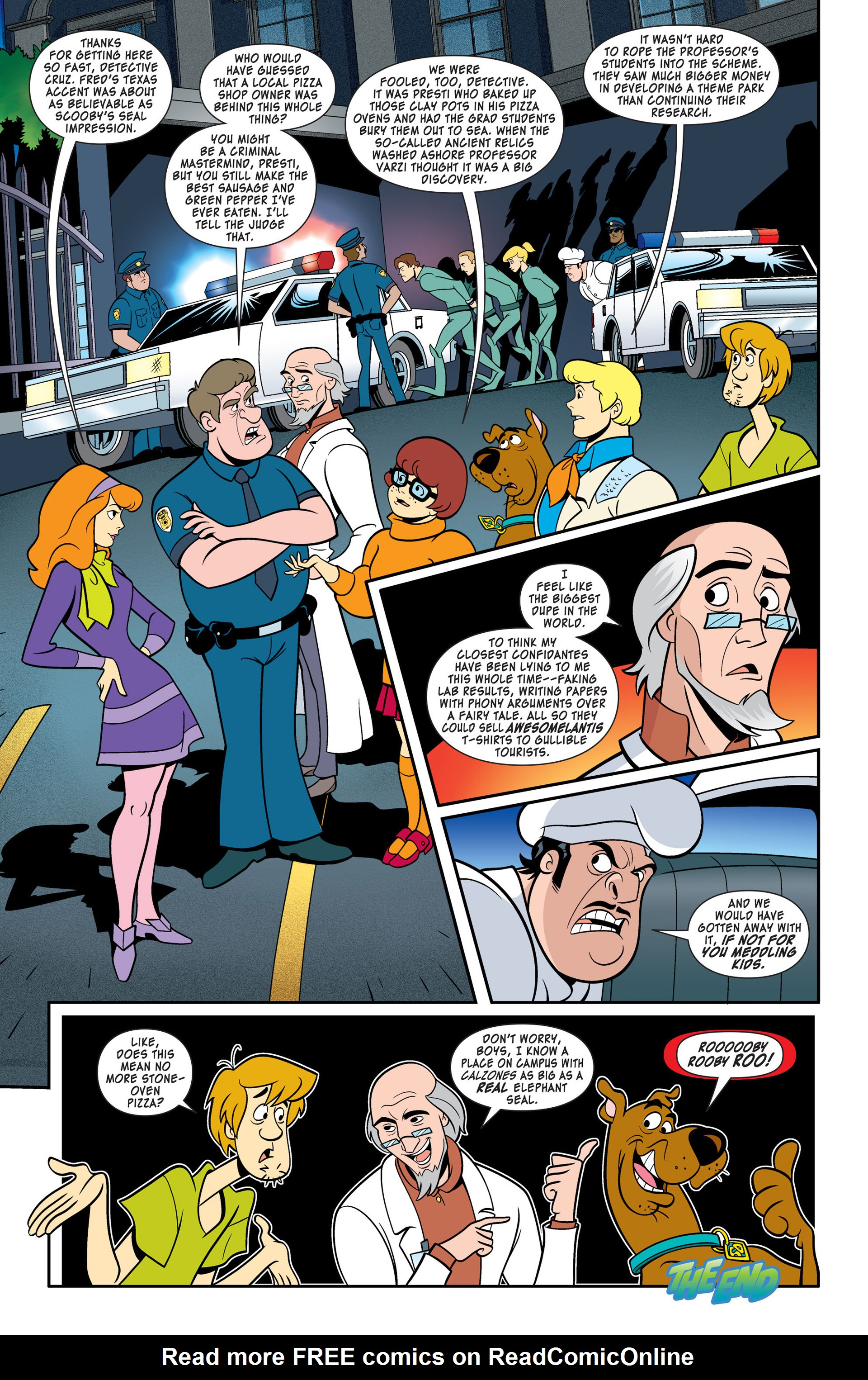 Read online Scooby-Doo: Where Are You? comic -  Issue #46 - 11