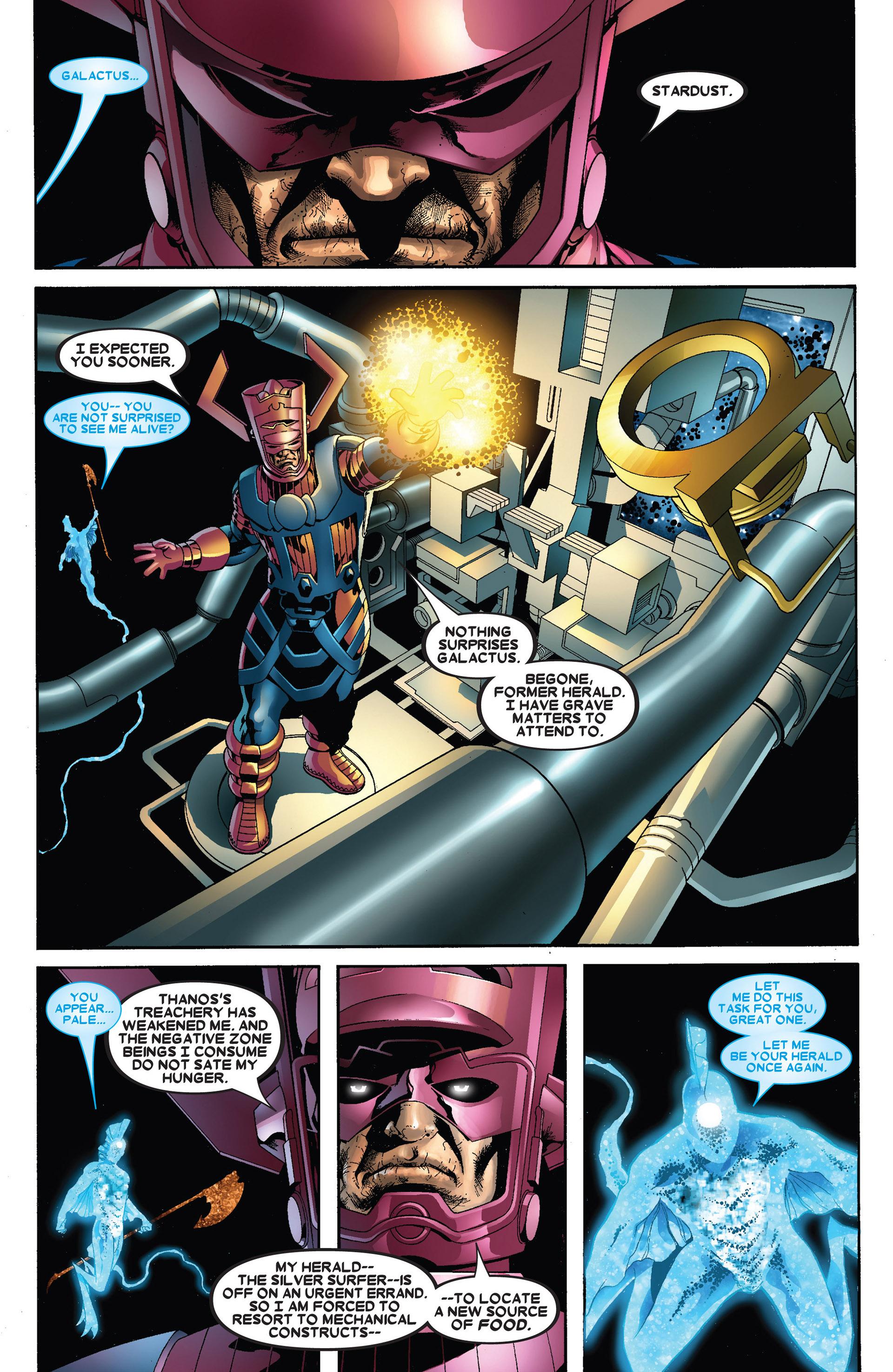 Read online Annihilation: Heralds Of Galactus comic -  Issue #1 - 34