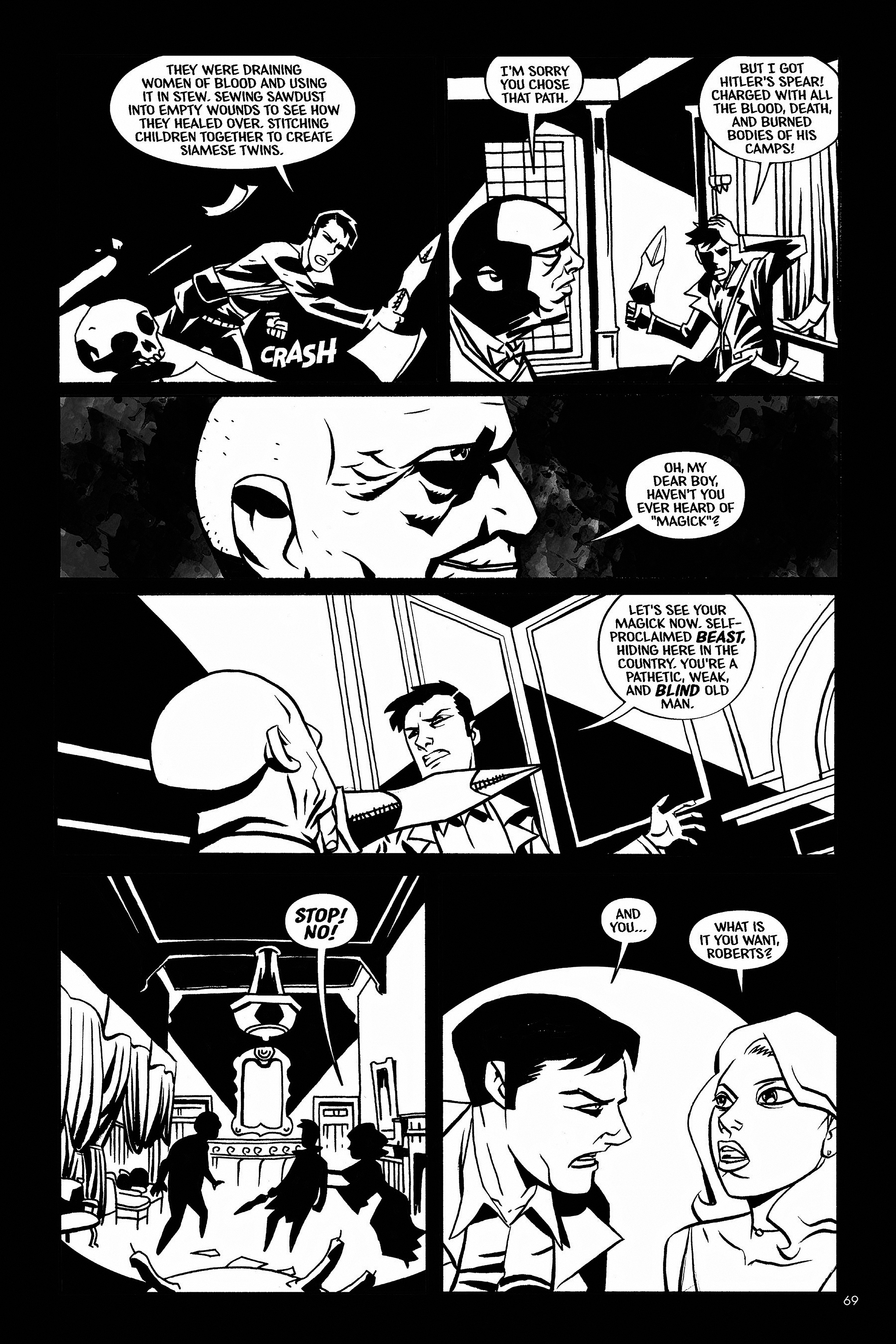 Read online Aleister & Adolf comic -  Issue # TPB - 67