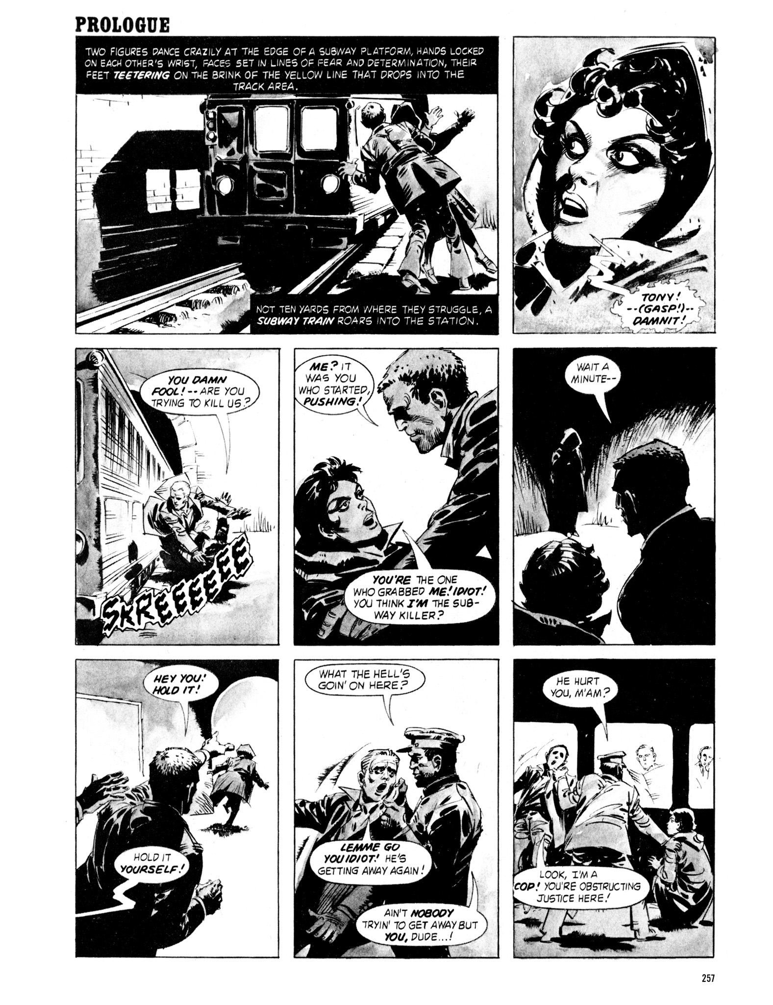 Read online Eerie Archives comic -  Issue # TPB 18 - 254