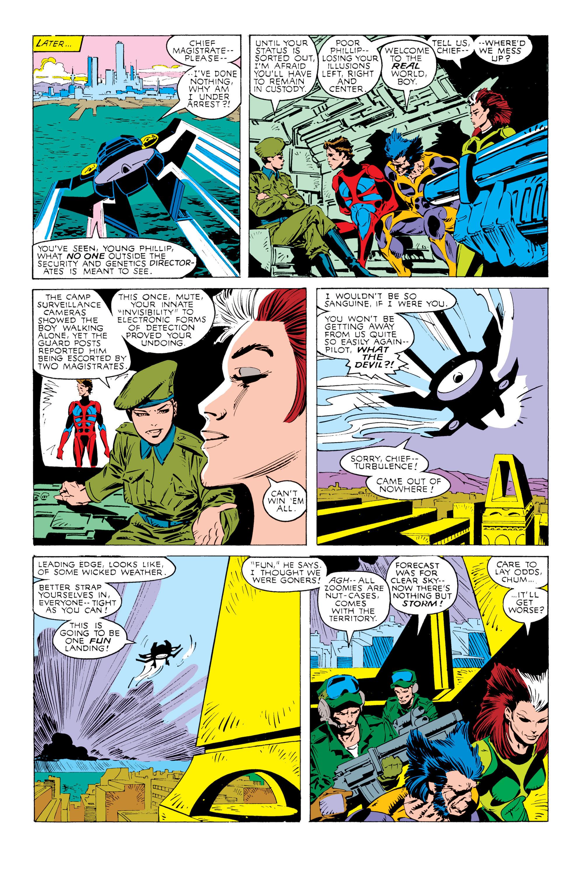 Read online Uncanny X-Men (1963) comic -  Issue #238 - 11