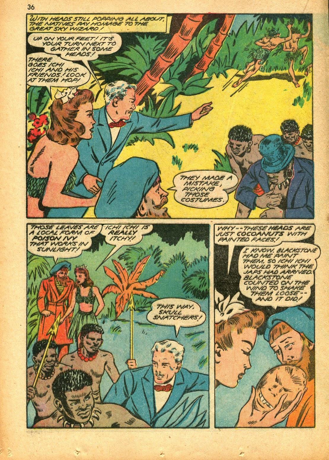 Read online Super-Magician Comics comic -  Issue #15 - 35