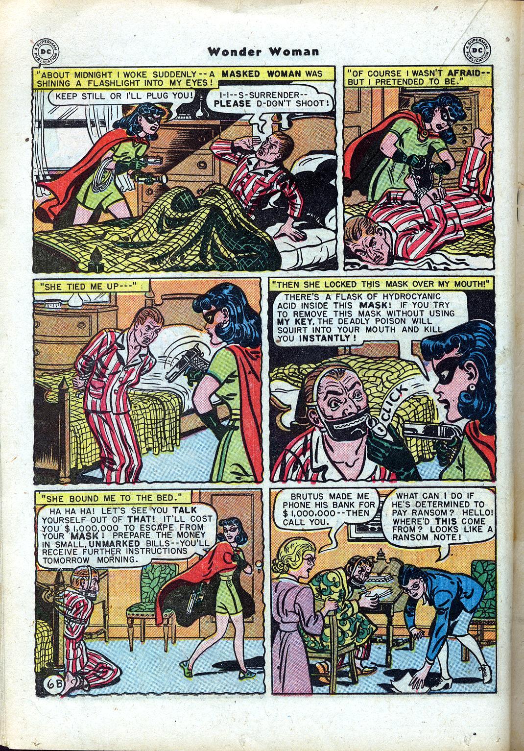 Read online Wonder Woman (1942) comic -  Issue #24 - 26