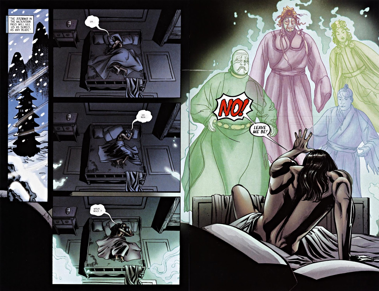 Read online Silken Ghost comic -  Issue #2 - 19