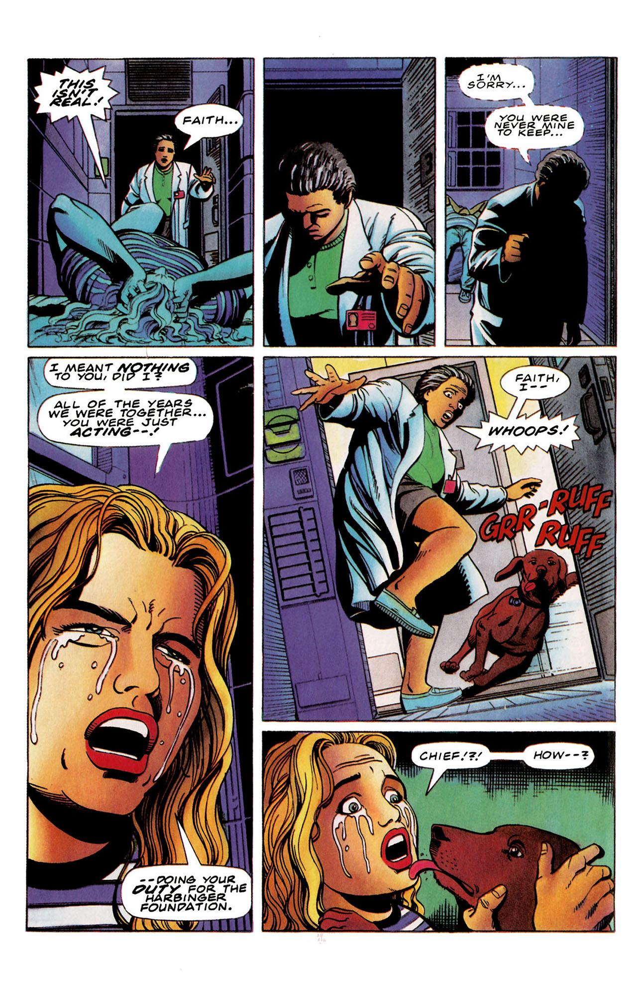 Read online Harbinger (1992) comic -  Issue #35 - 17