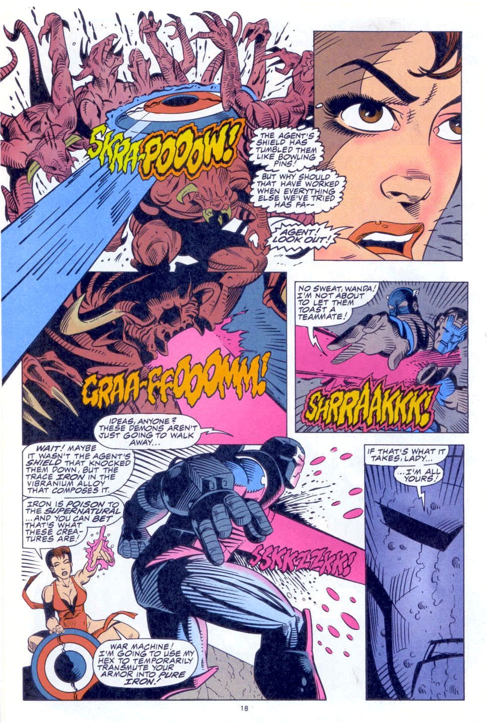 Scarlet Witch (1994) Issue #1 #1 - English 15