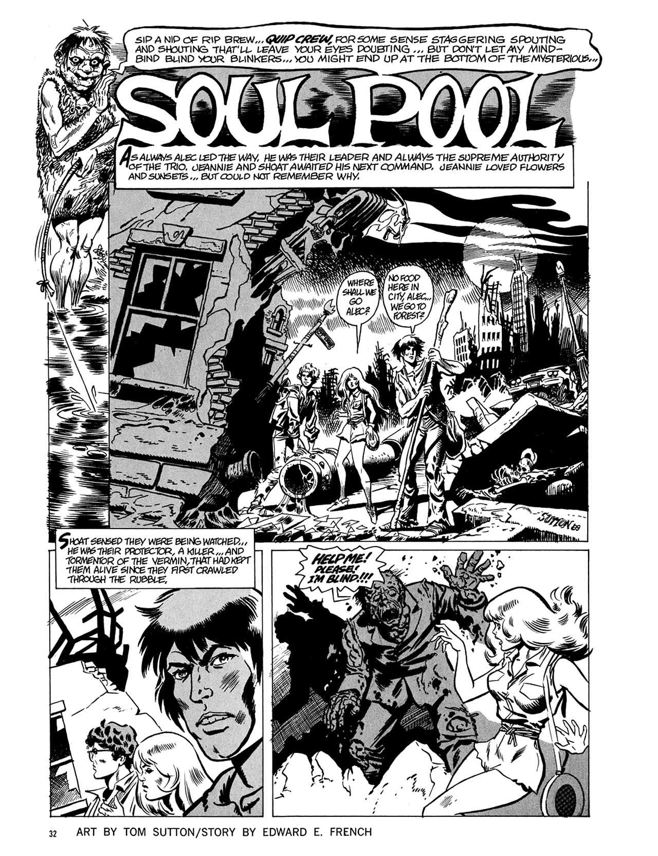 Read online Eerie Archives comic -  Issue # TPB 5 - 33