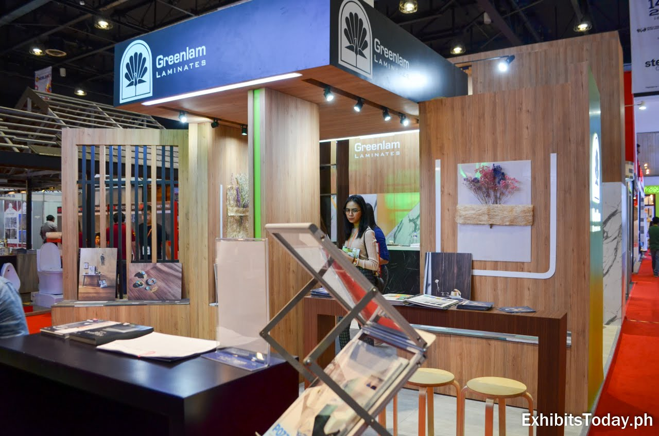 Greenlam Laminates tradeshow display