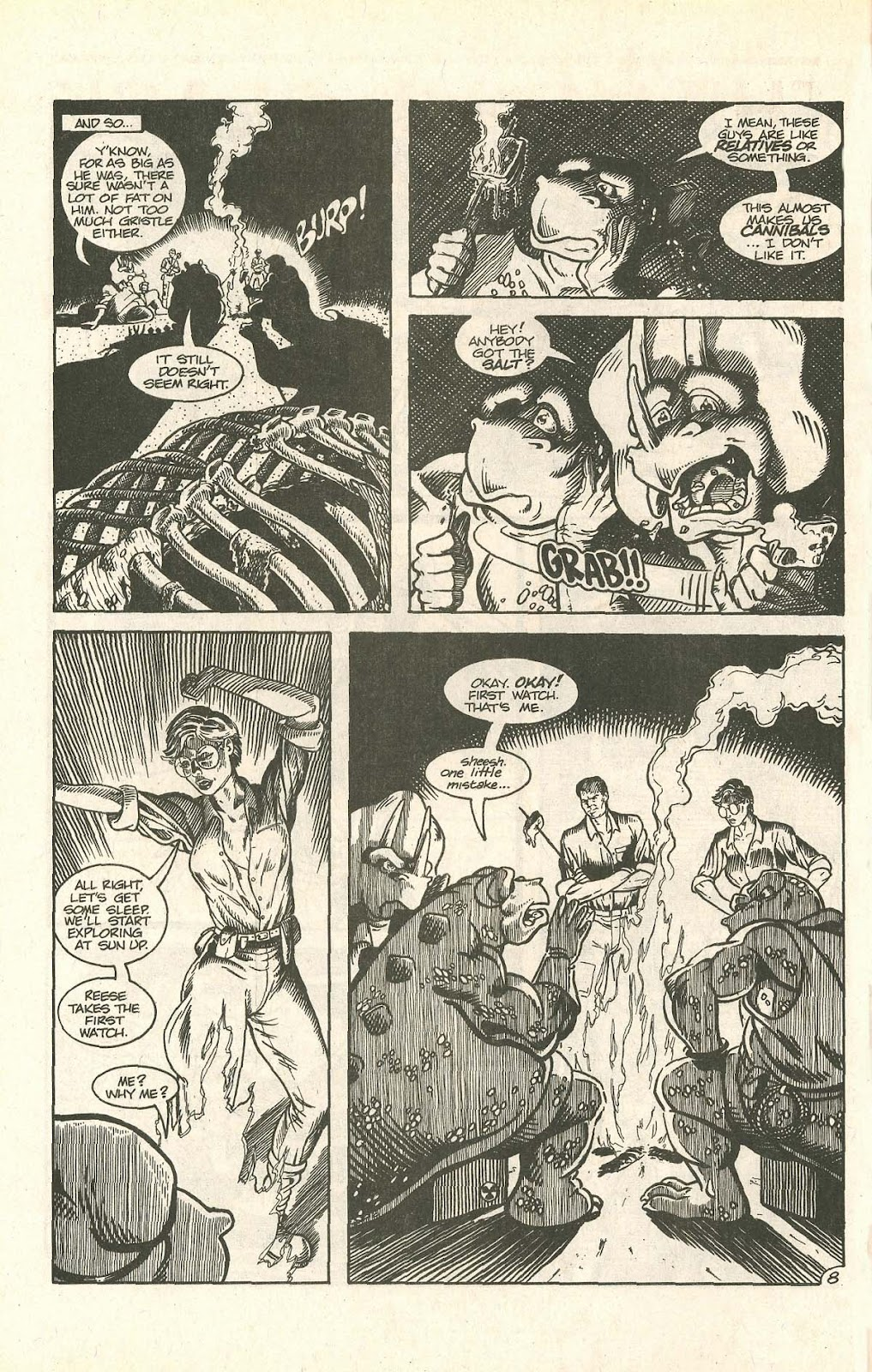 Dinosaurs For Hire (1988) issue 9 - Page 10