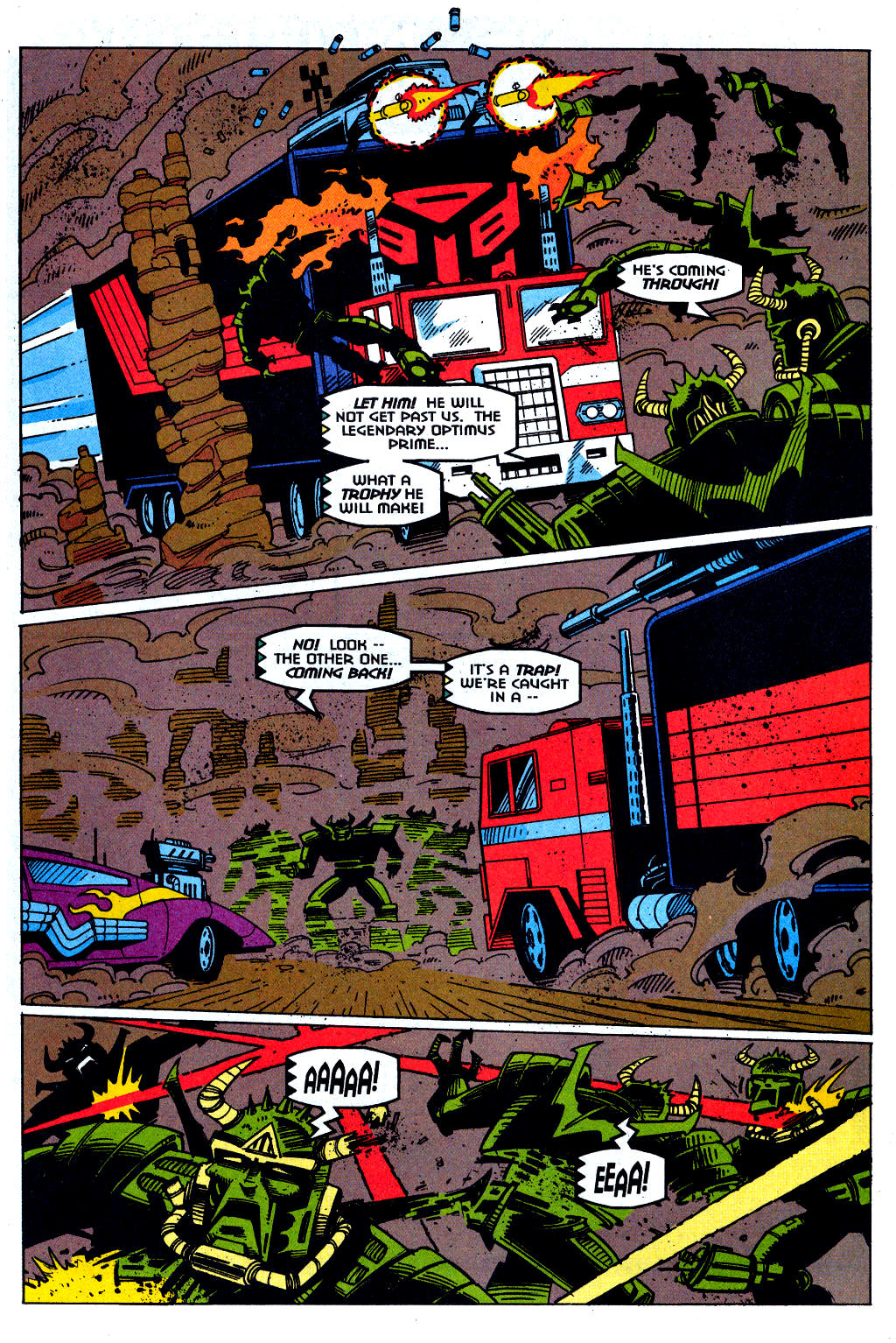 Read online Transformers: Generation 2 comic -  Issue #1 - 19
