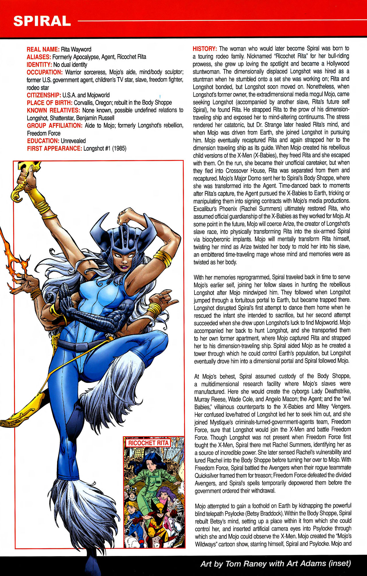 Read online All-New Official Handbook of the Marvel Universe A to Z comic -  Issue #10 - 44
