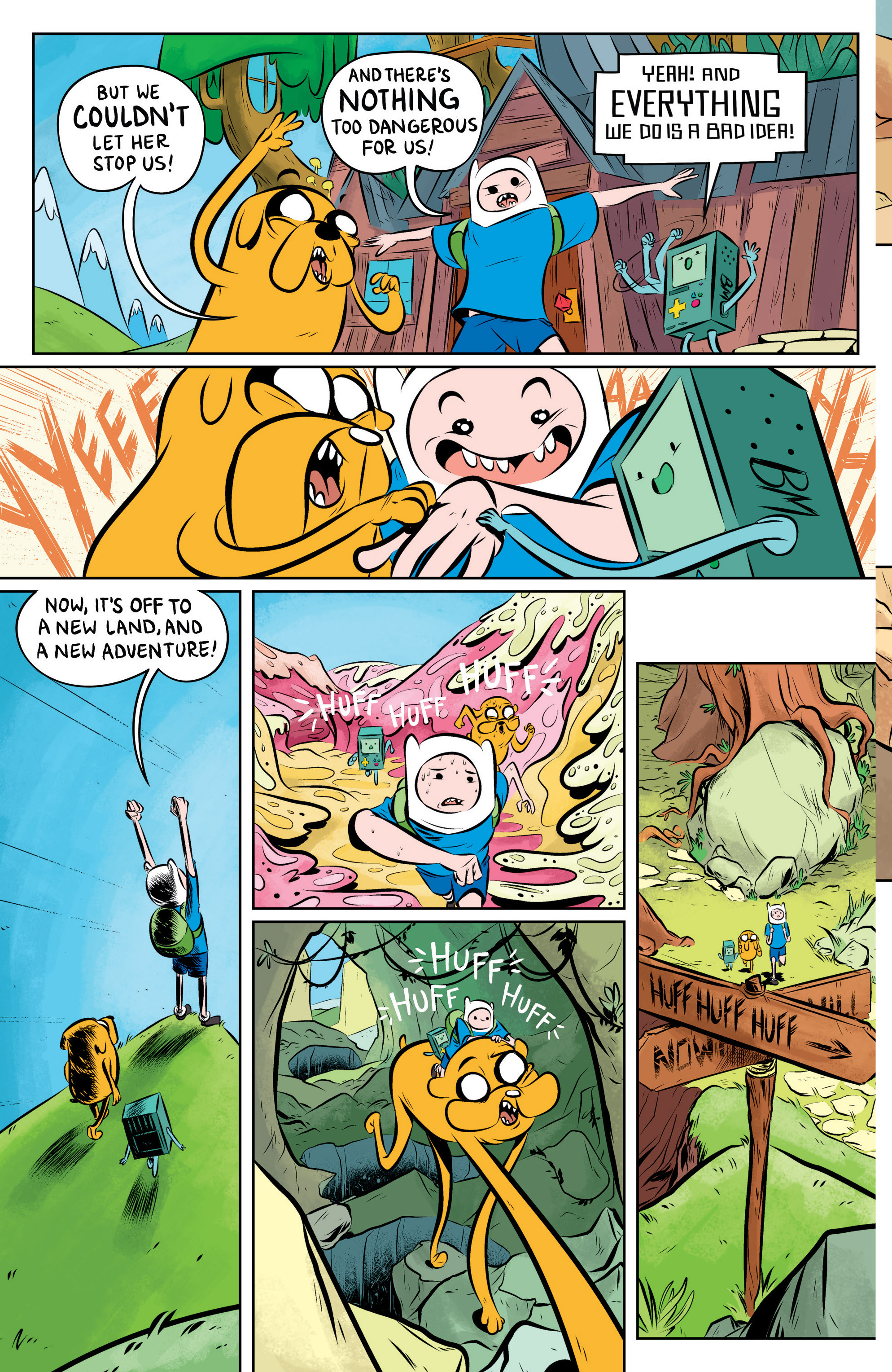Read online Adventure Time: The Flip Side comic -  Issue #1 - 14