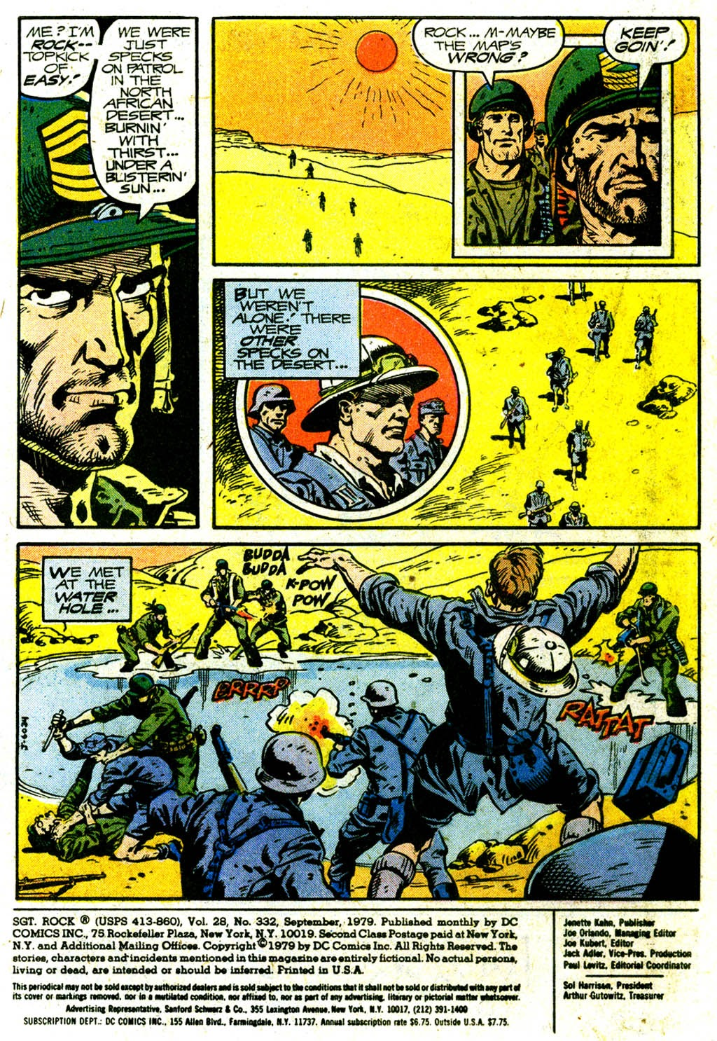 Read online Sgt. Rock comic -  Issue #332 - 3