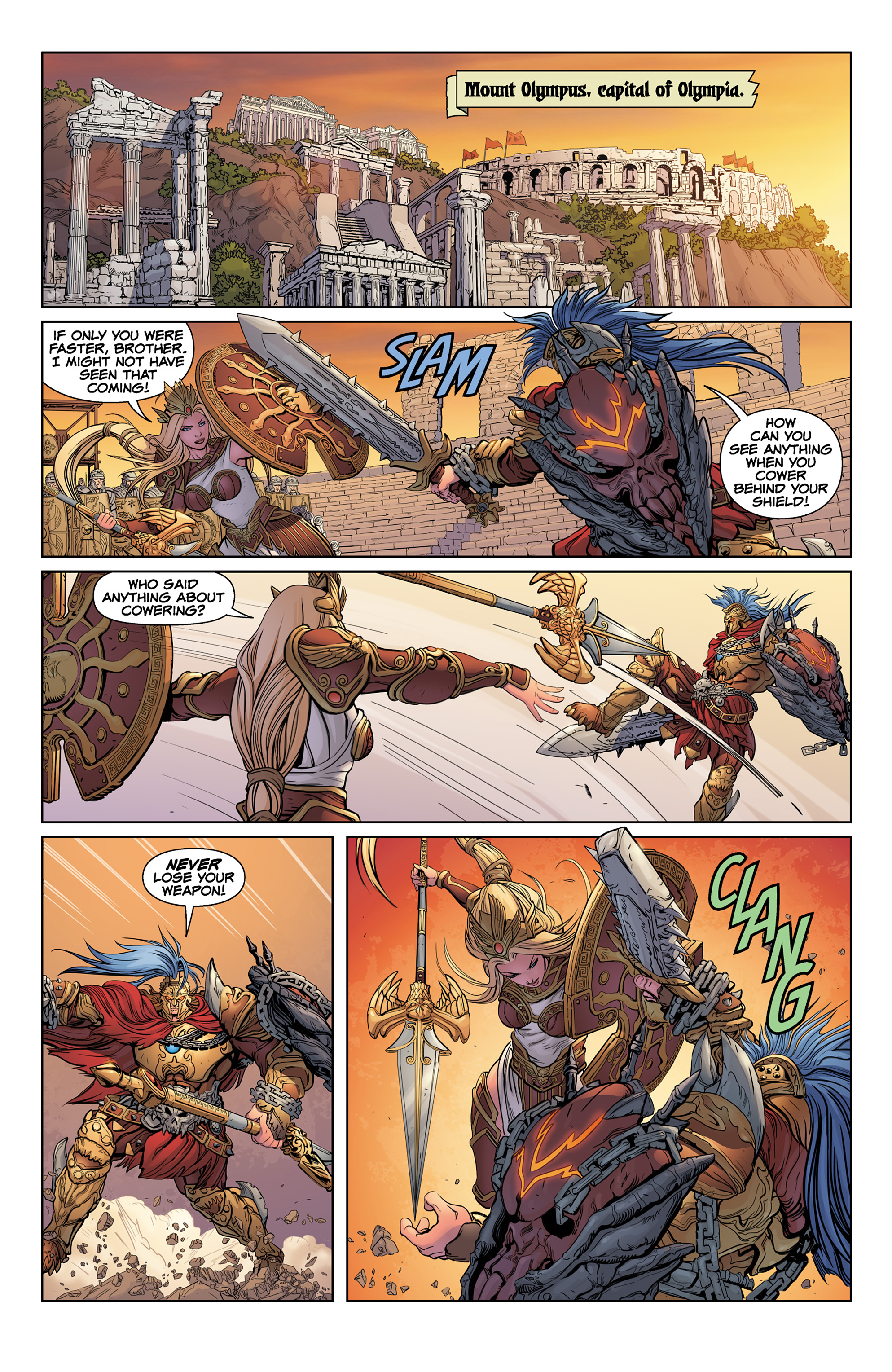 Read online SMITE: The Pantheon War comic -  Issue #1 - 11