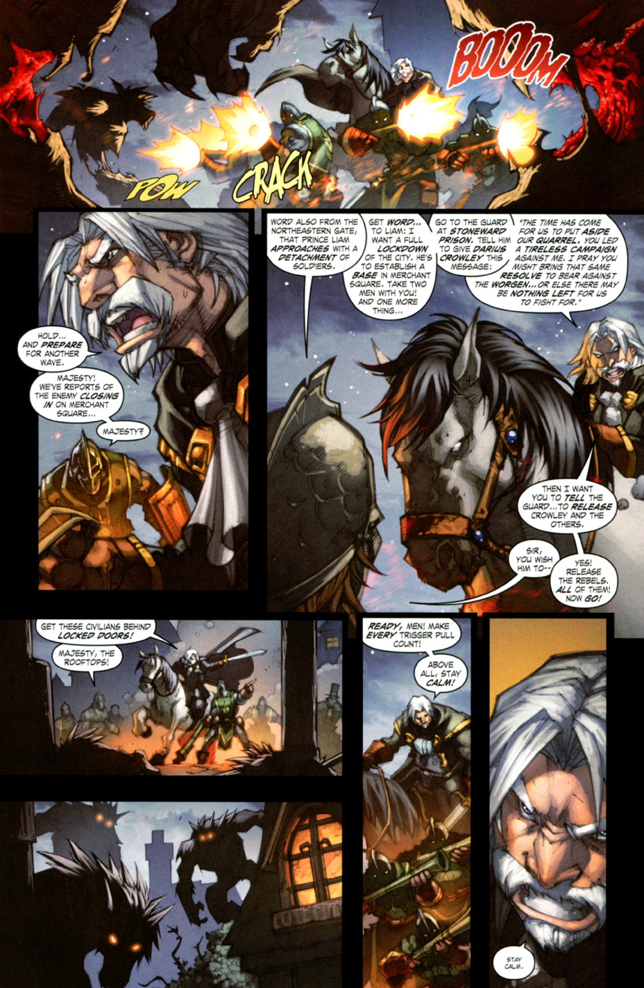 Read online World of Warcraft: Curse of the Worgen comic -  Issue #4 - 5