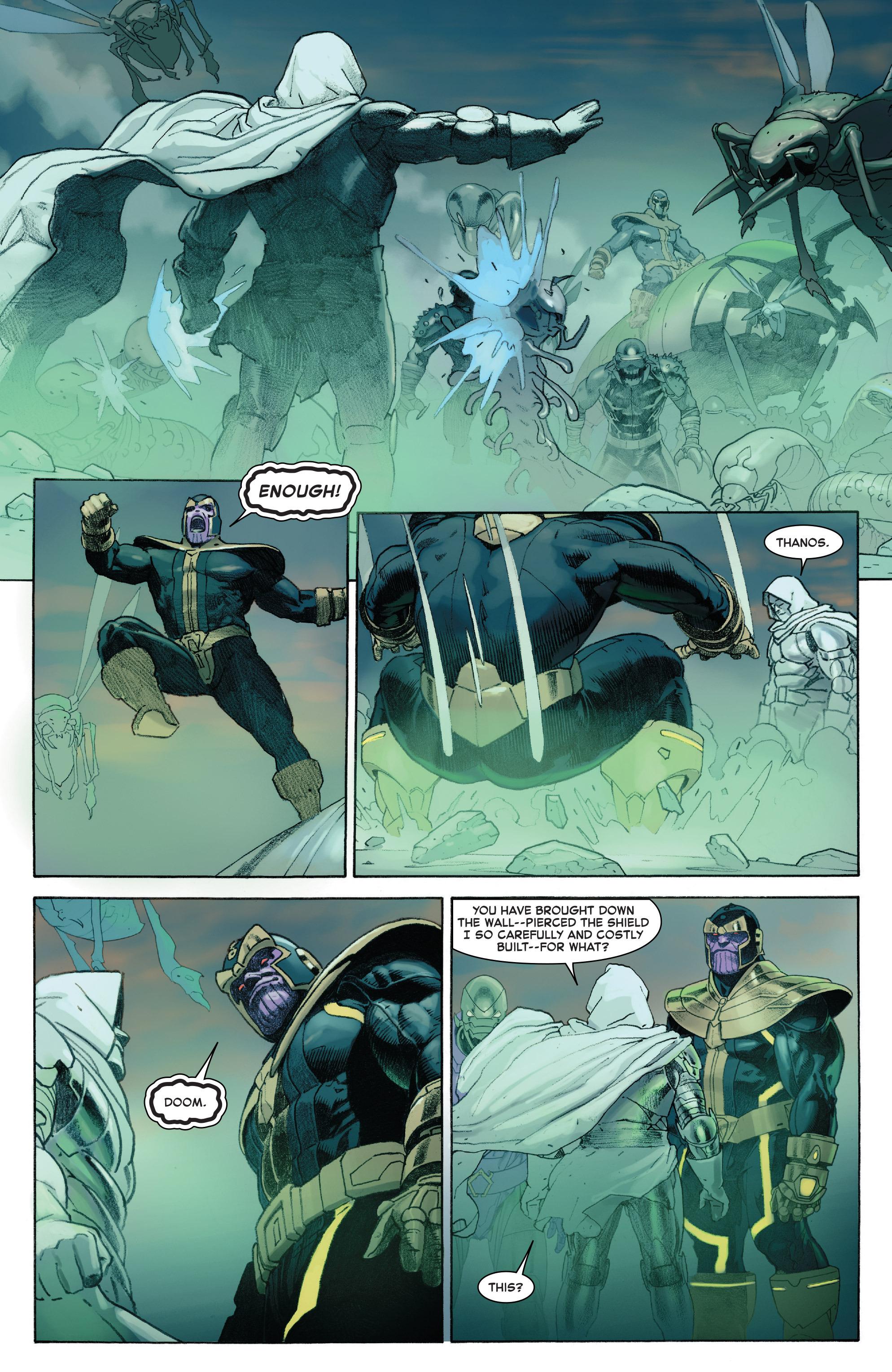 Read online Secret Wars comic -  Issue #8 - 20