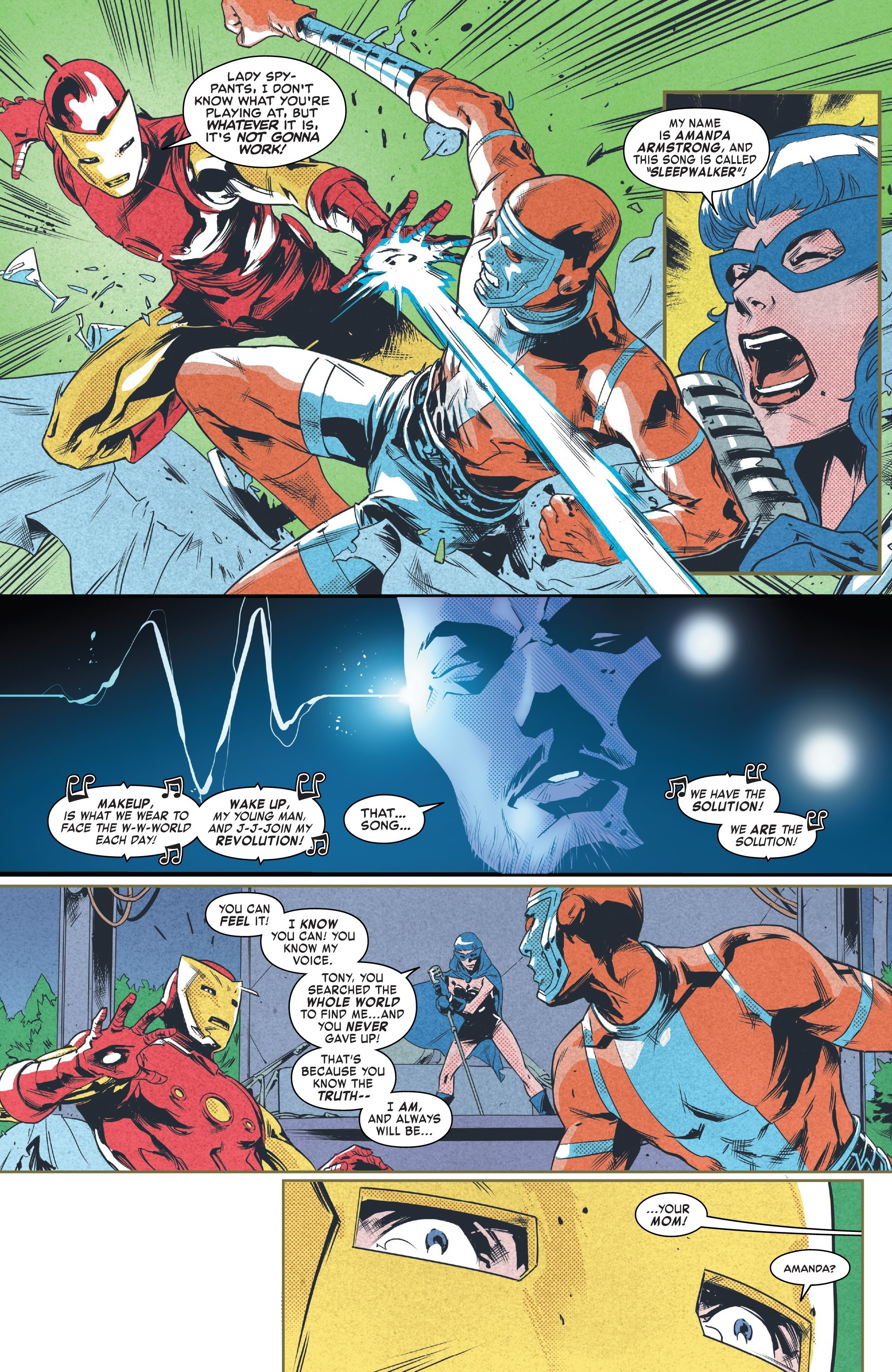 Read online Tony Stark: Iron Man comic -  Issue #9 - 17