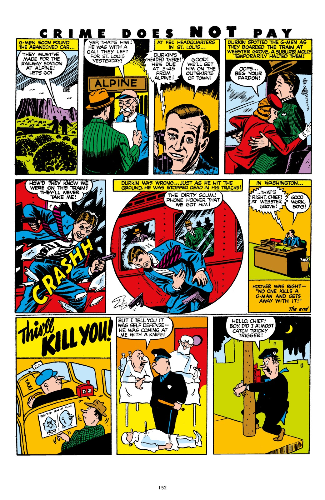 Read online Crime Does Not Pay Archives comic -  Issue # TPB 8 (Part 2) - 53