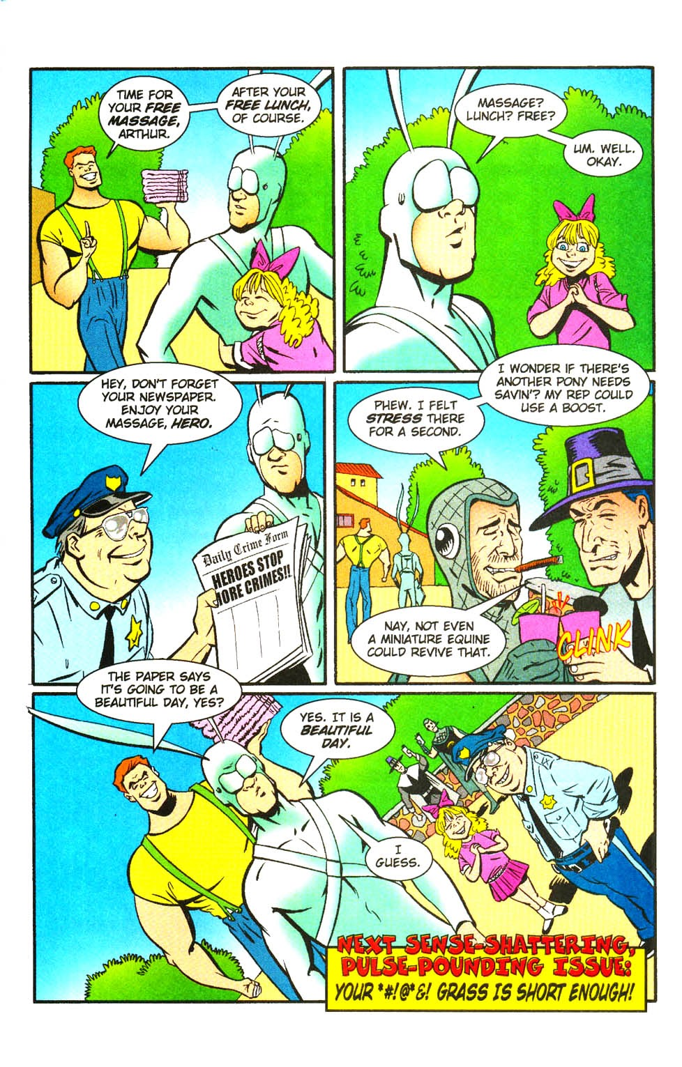 Read online The Tick: Days of Drama comic -  Issue #3 - 26