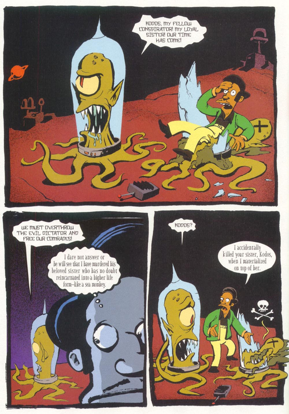 Read online Treehouse of Horror comic -  Issue #5 - 34