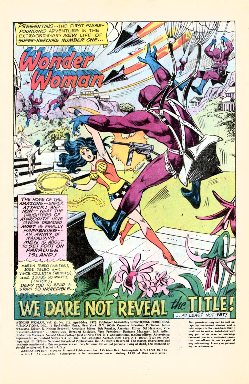 Read online Wonder Woman (1942) comic -  Issue #223 - 2