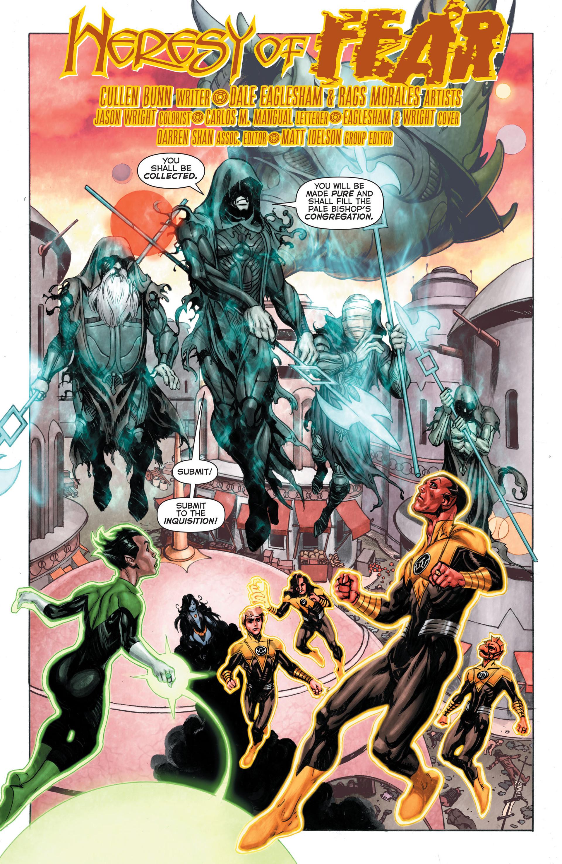Read online Sinestro comic -  Issue #3 - 21