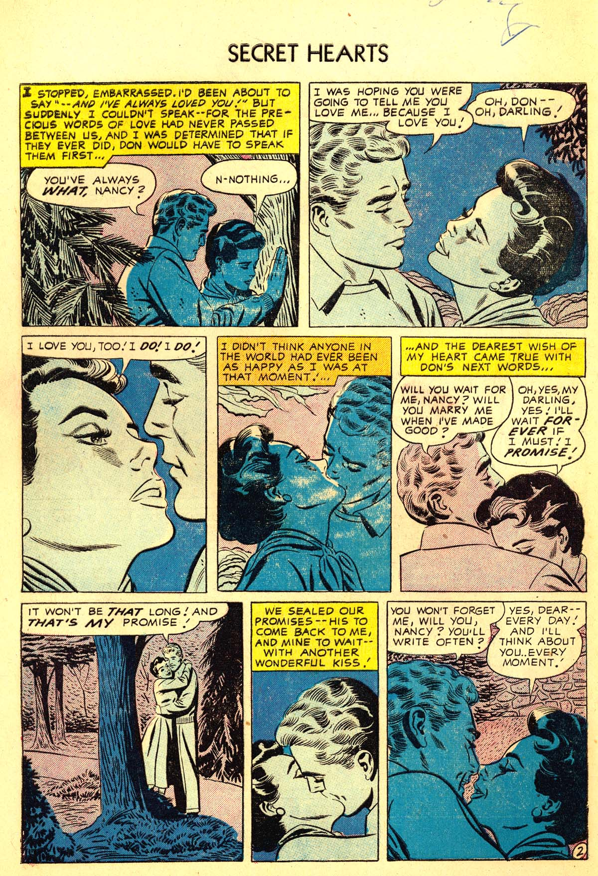 Read online Secret Hearts comic -  Issue #34 - 4