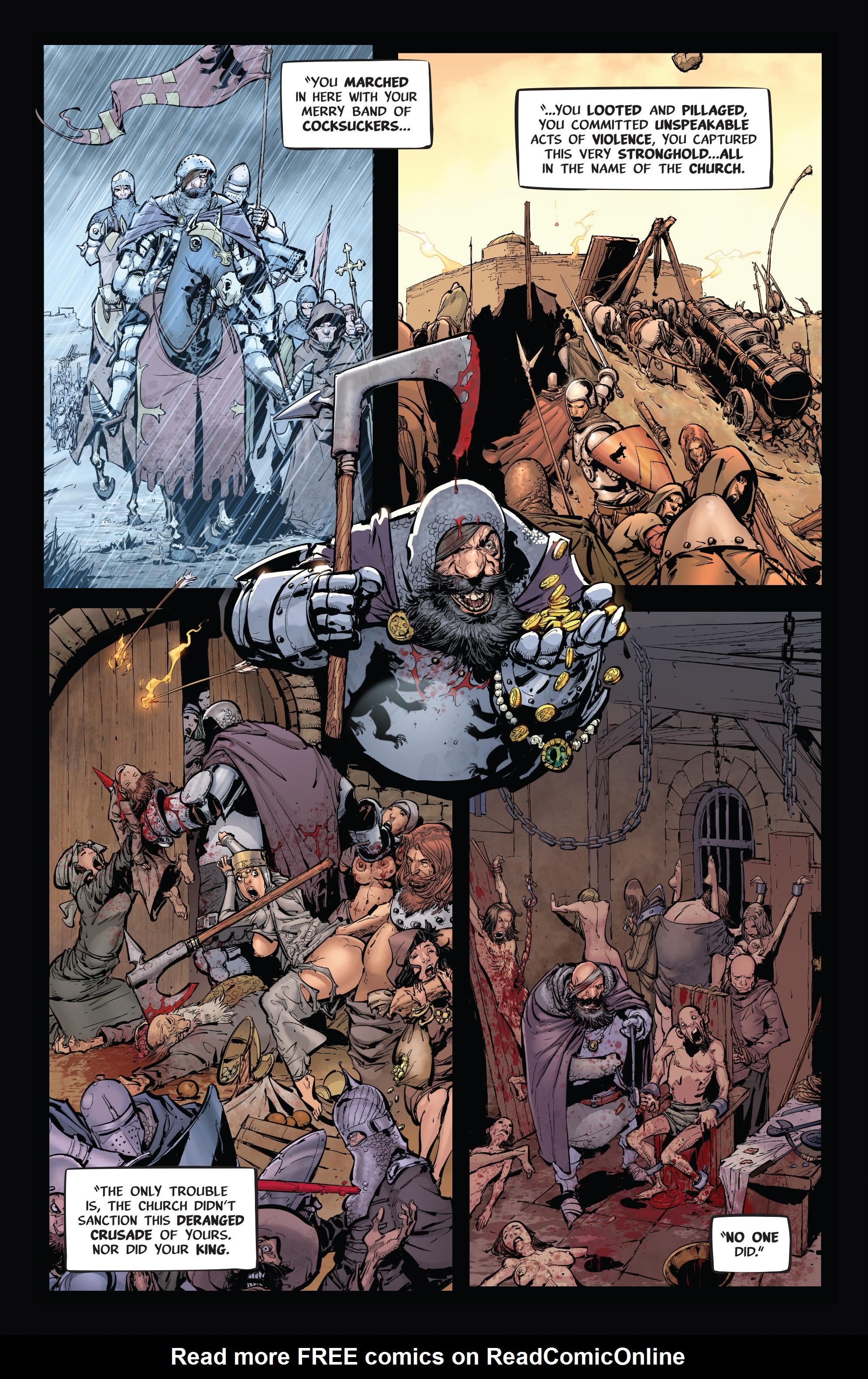 Read online Pestilence comic -  Issue #1 - 10