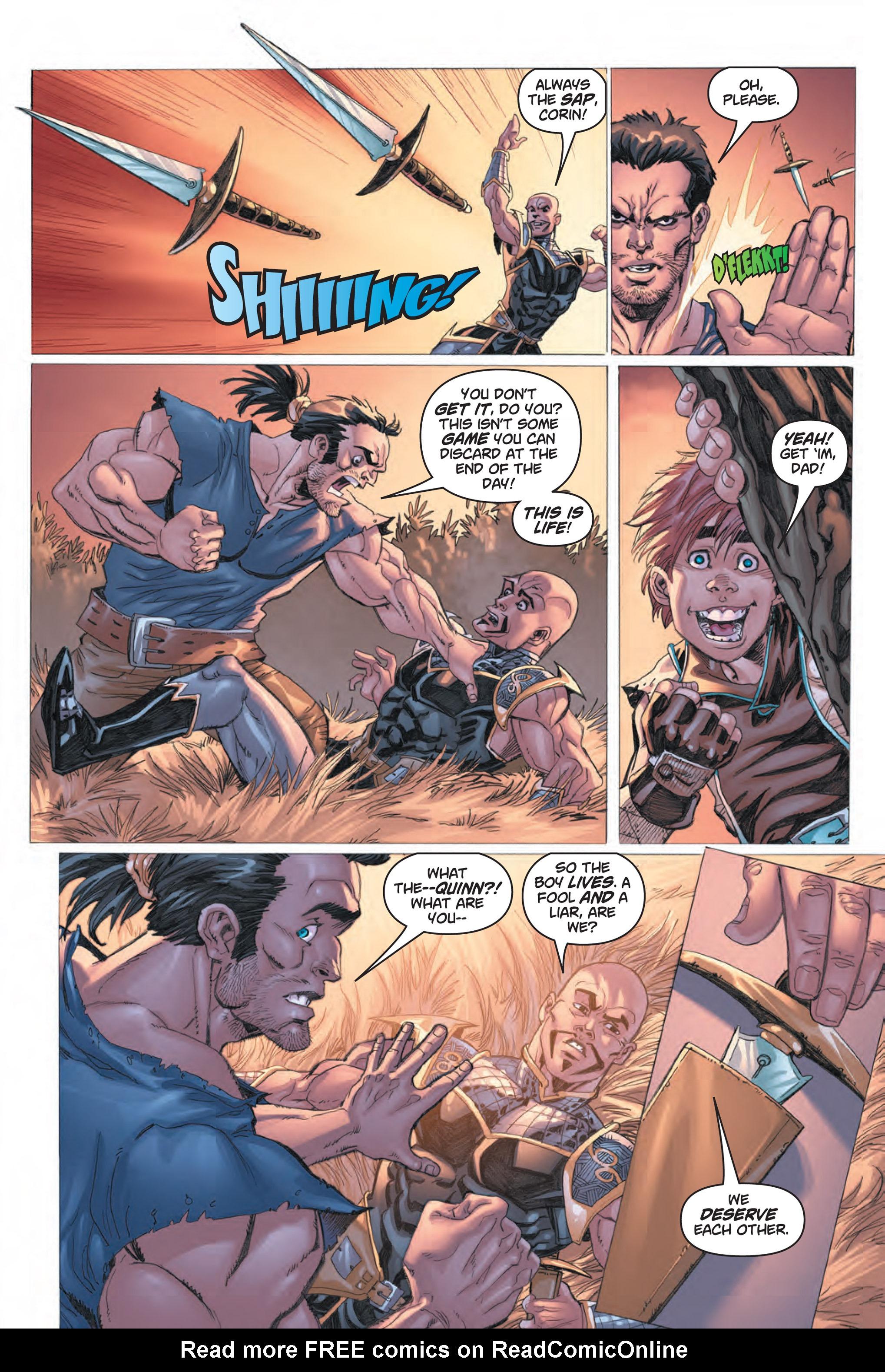 Read online Skyward comic -  Issue #1 - 25