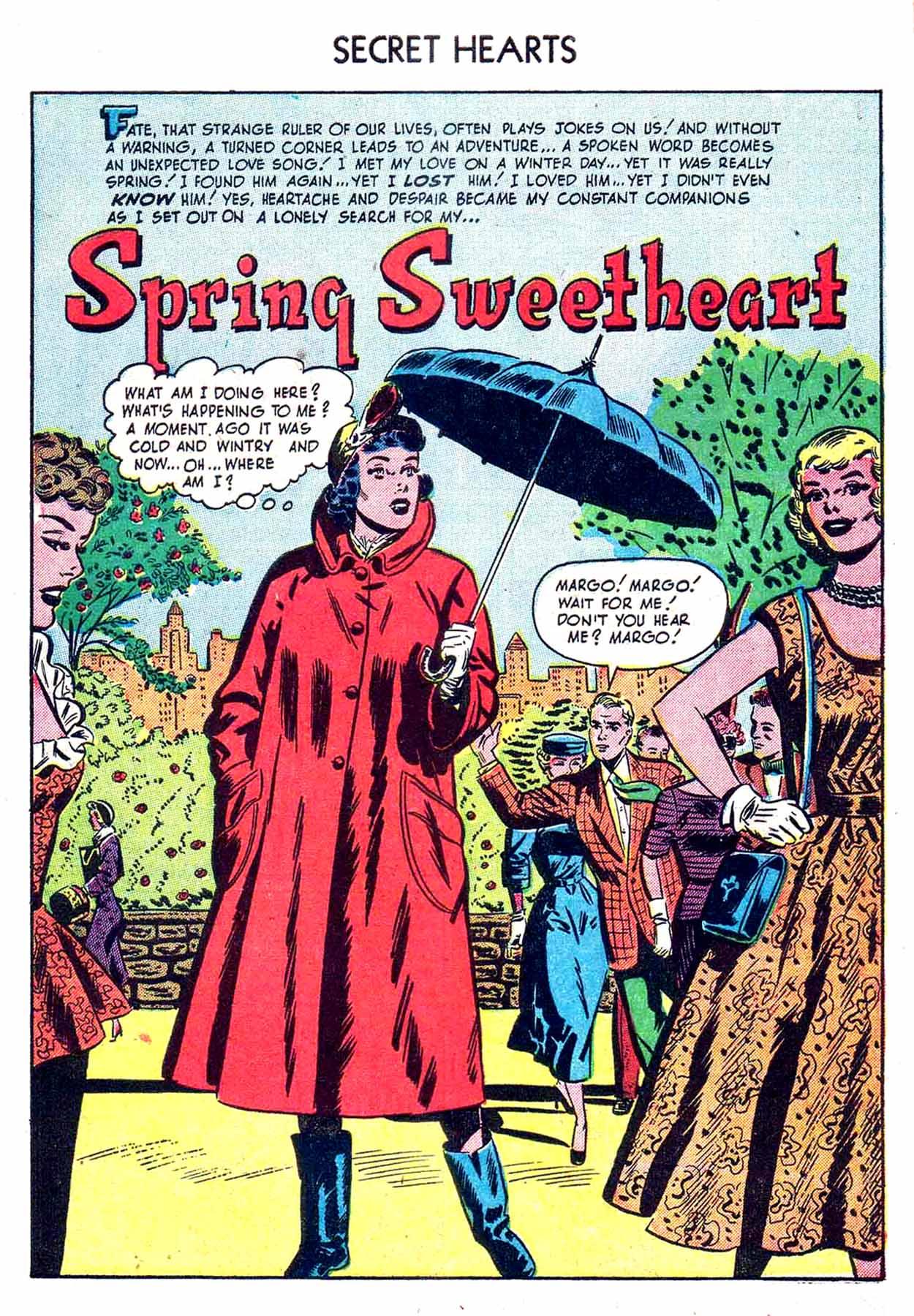 Read online Secret Hearts comic -  Issue #8 - 3