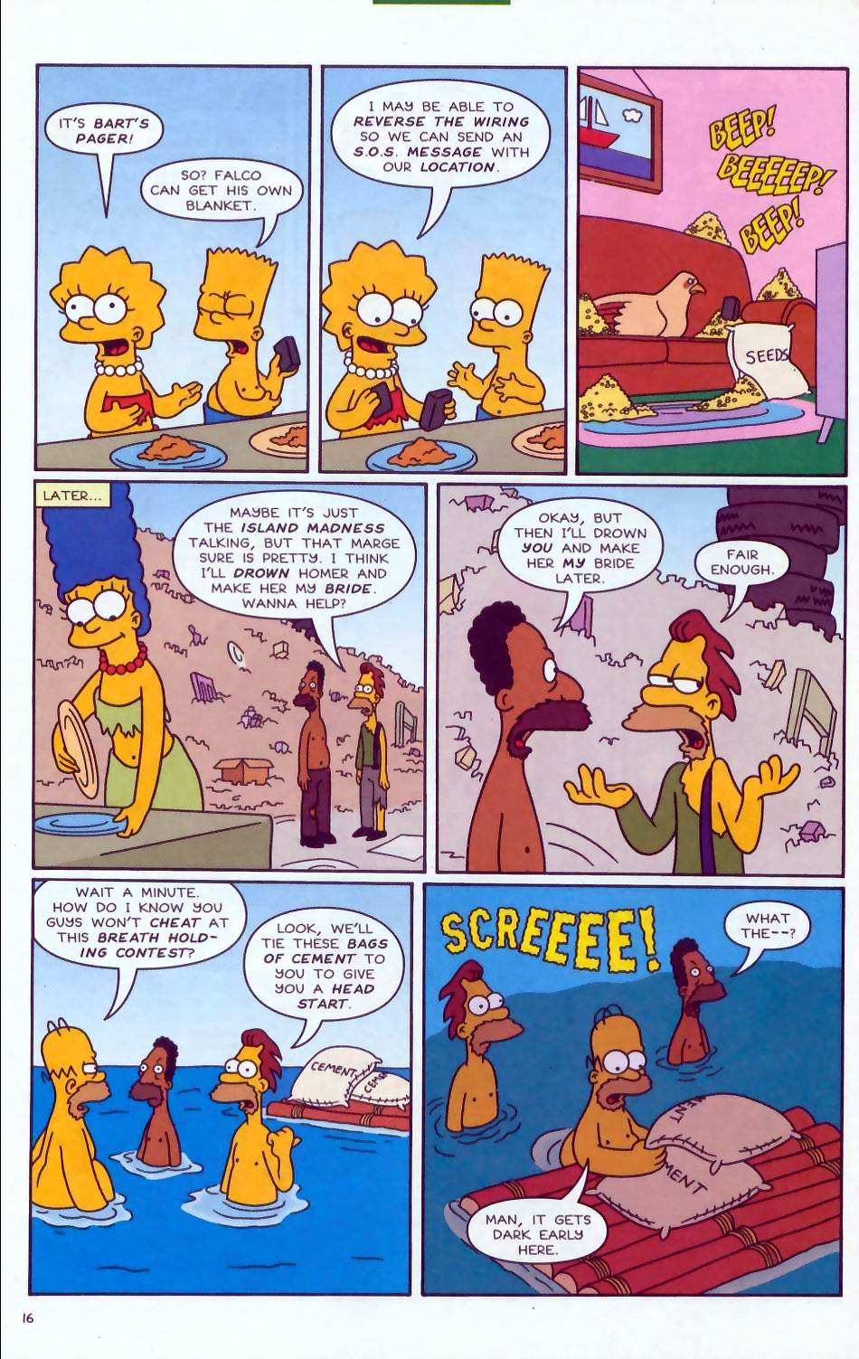 Read online Simpsons Comics comic -  Issue #72 - 17