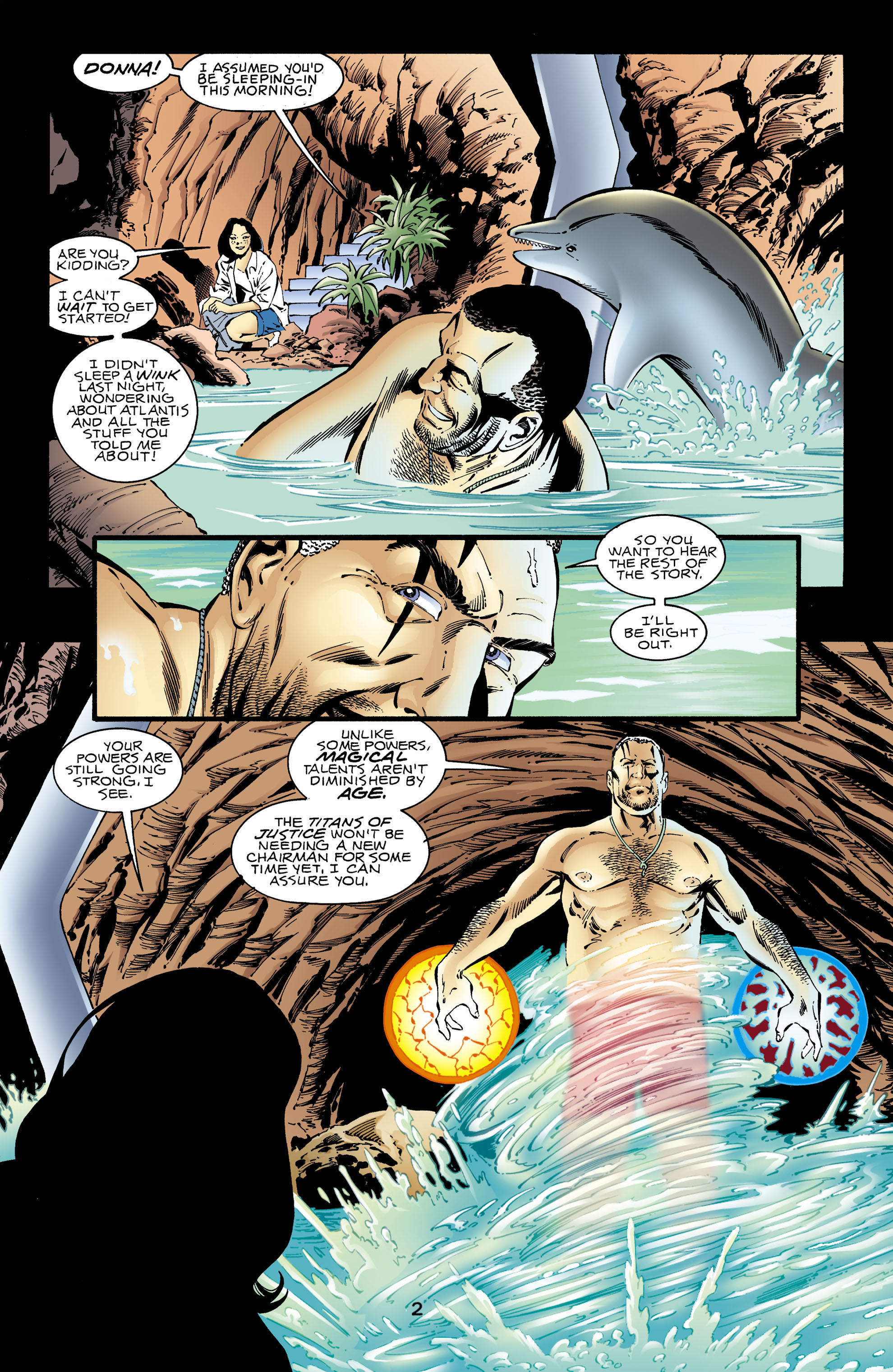 Read online Aquaman (1994) comic -  Issue #67 - 3