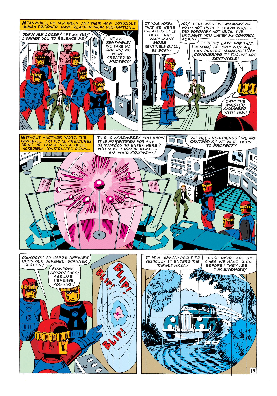 Read online Uncanny X-Men (1963) comic -  Issue #14 - 20
