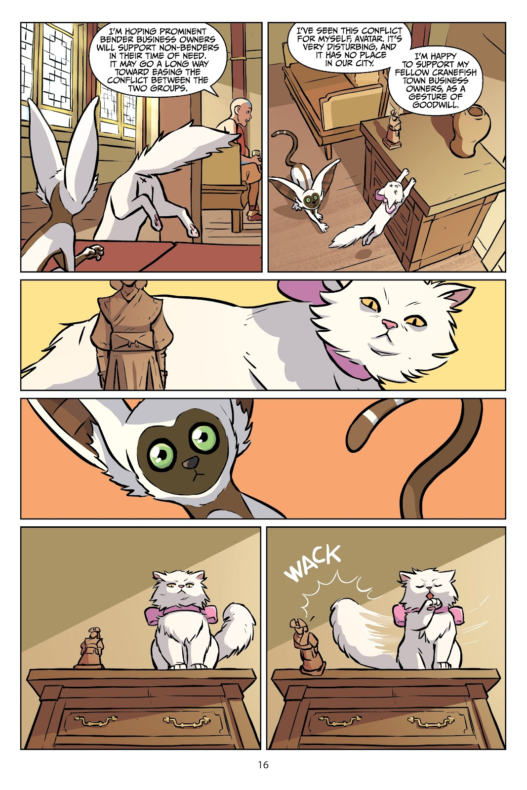 Read online Nickelodeon Avatar: The Last Airbender - Imbalance comic -  Issue # TPB 2 - 17