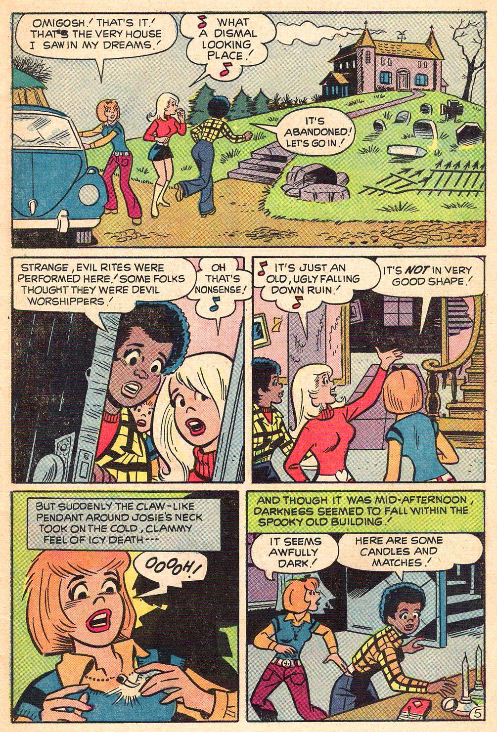 Read online She's Josie comic -  Issue #68 - 7