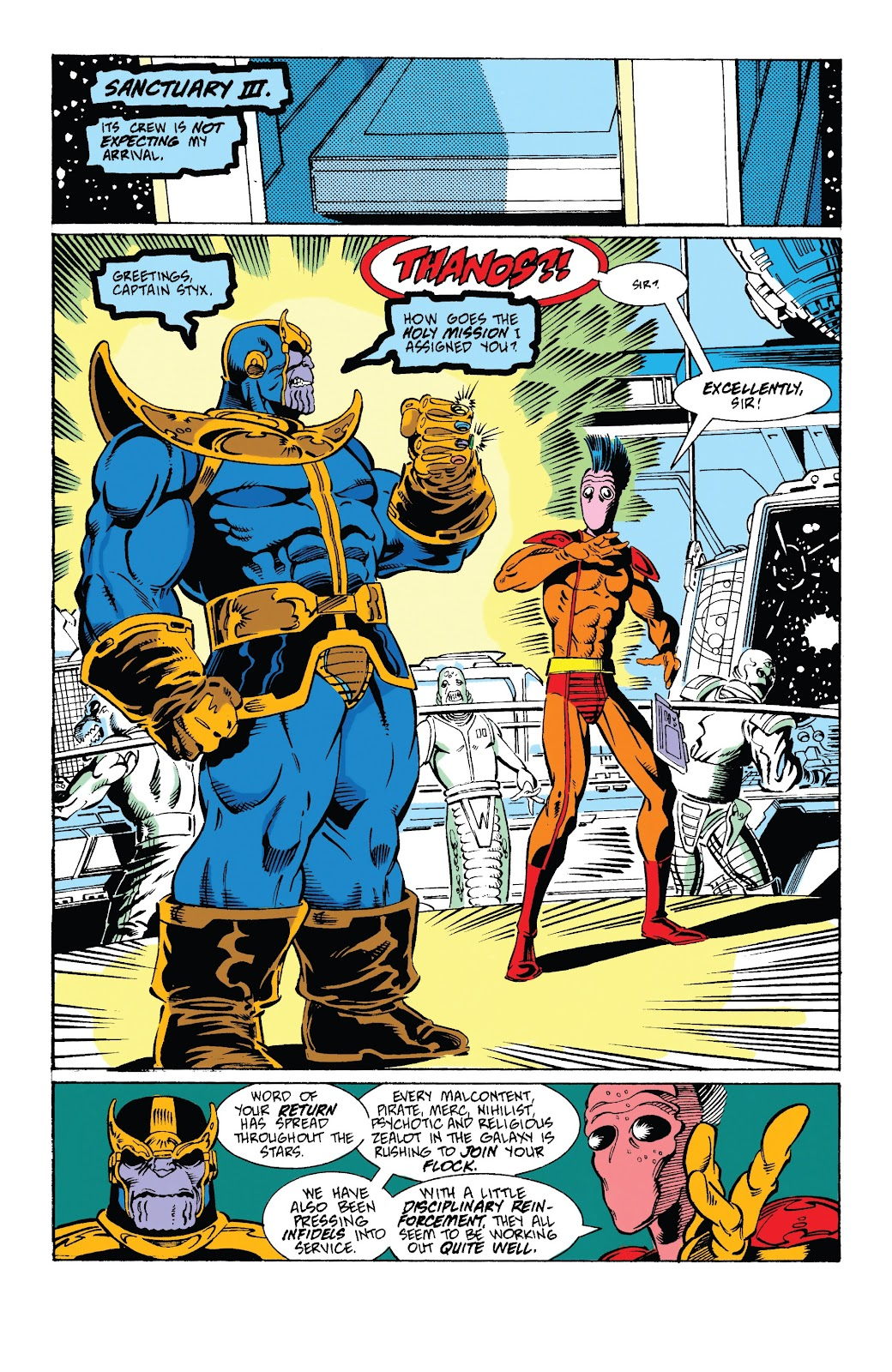 Read online Marvel Tales: Thanos comic -  Issue # Full - 28