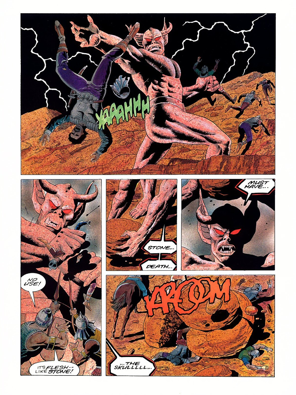 Read online Marvel Graphic Novel: Conan the Barbarian: The Skull of Set comic -  Issue # Full - 55