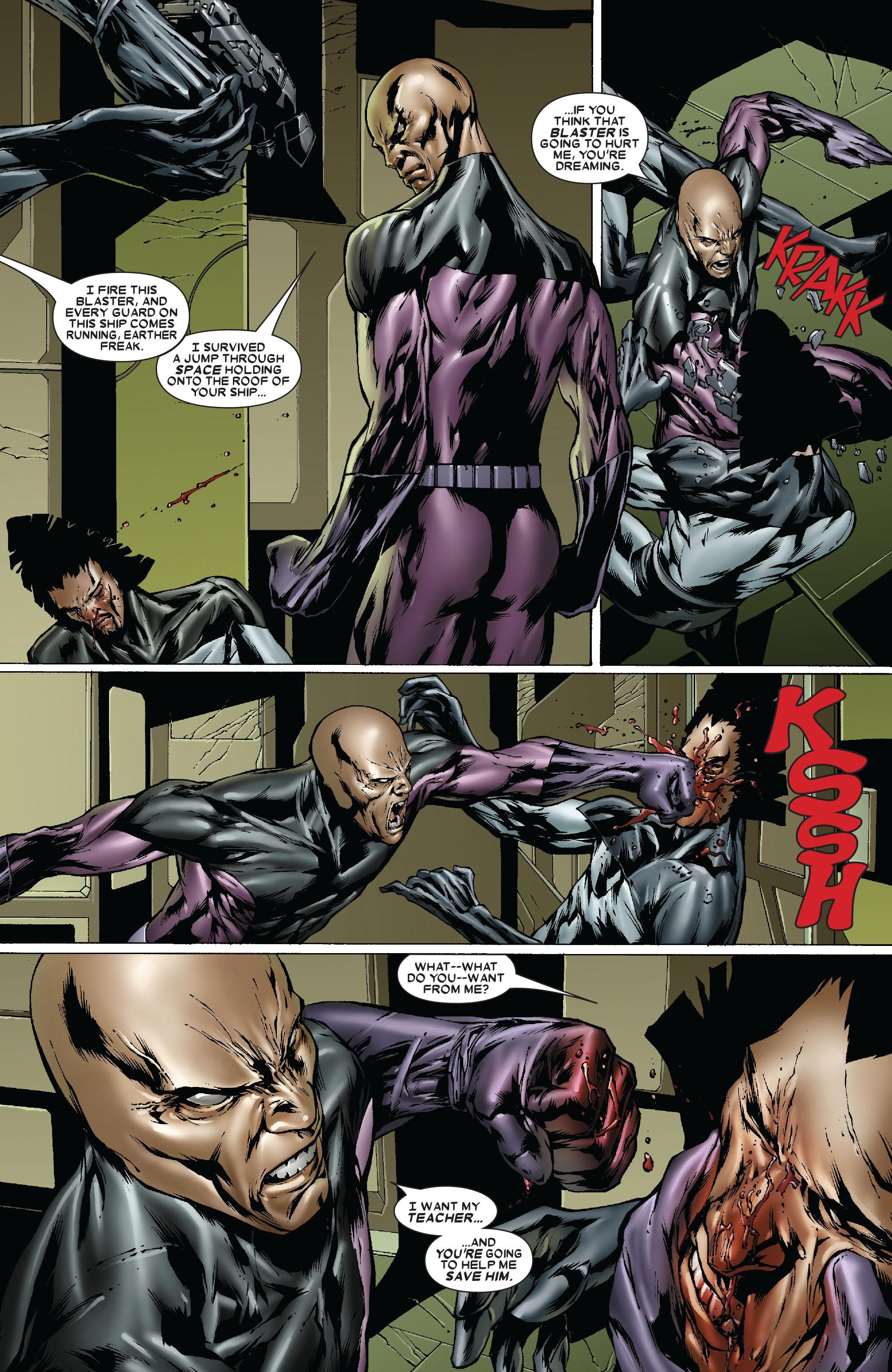 Read online Uncanny X-Men (1963) comic -  Issue #481 - 23