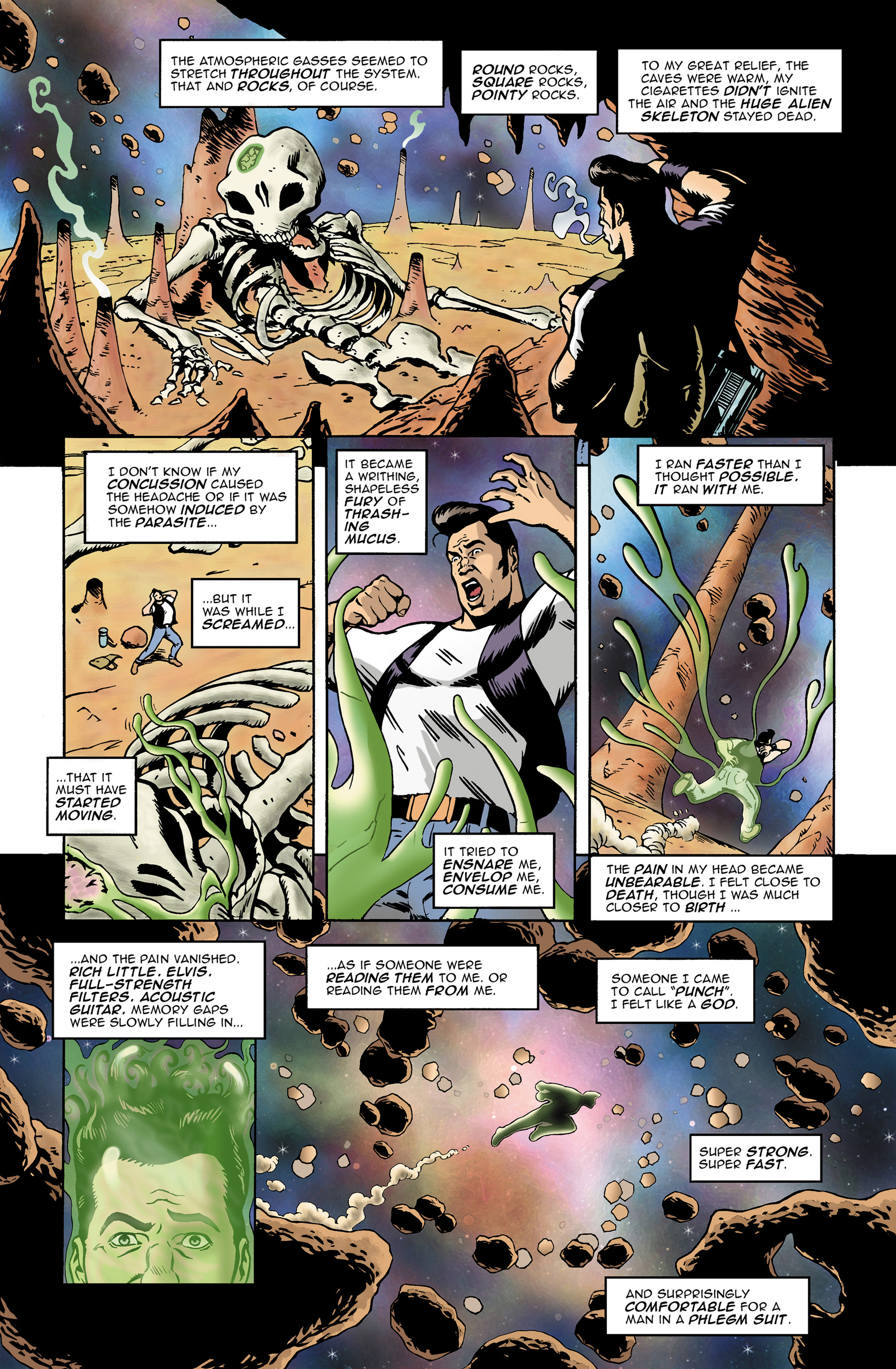 Read online 100% Biodegradable comic -  Issue #14 - 8