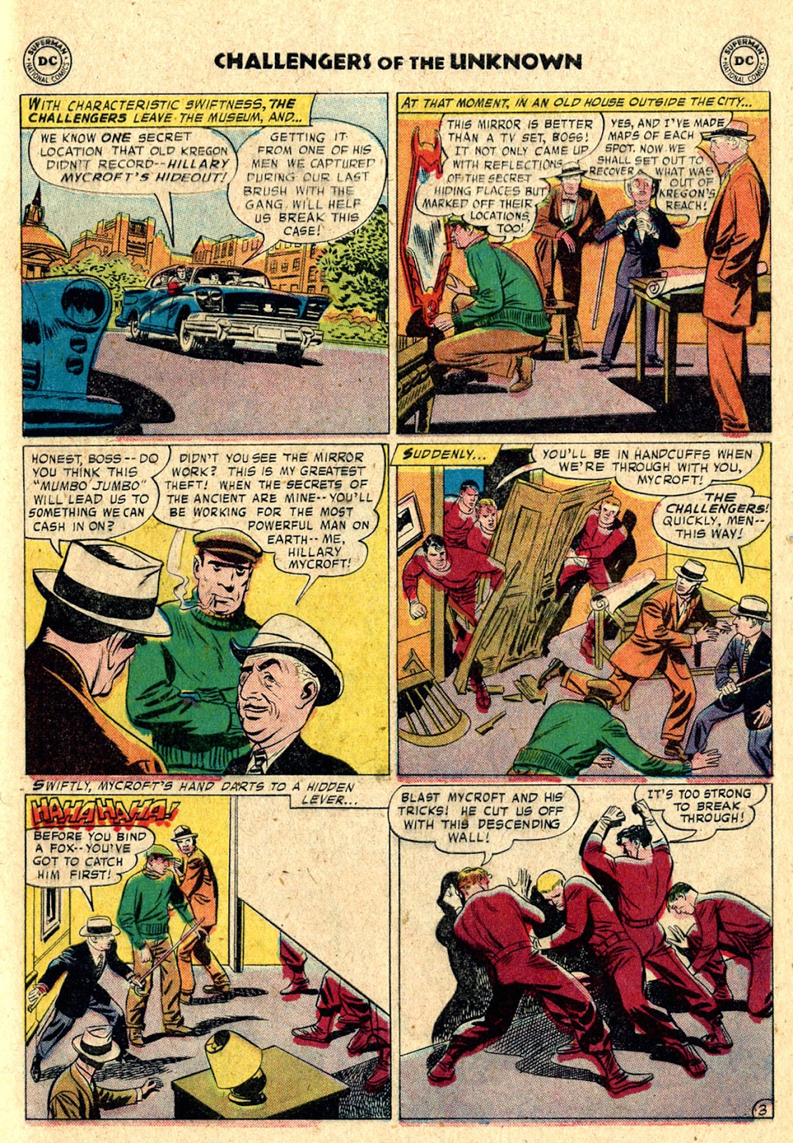 Challengers of the Unknown (1958) issue 3 - Page 5