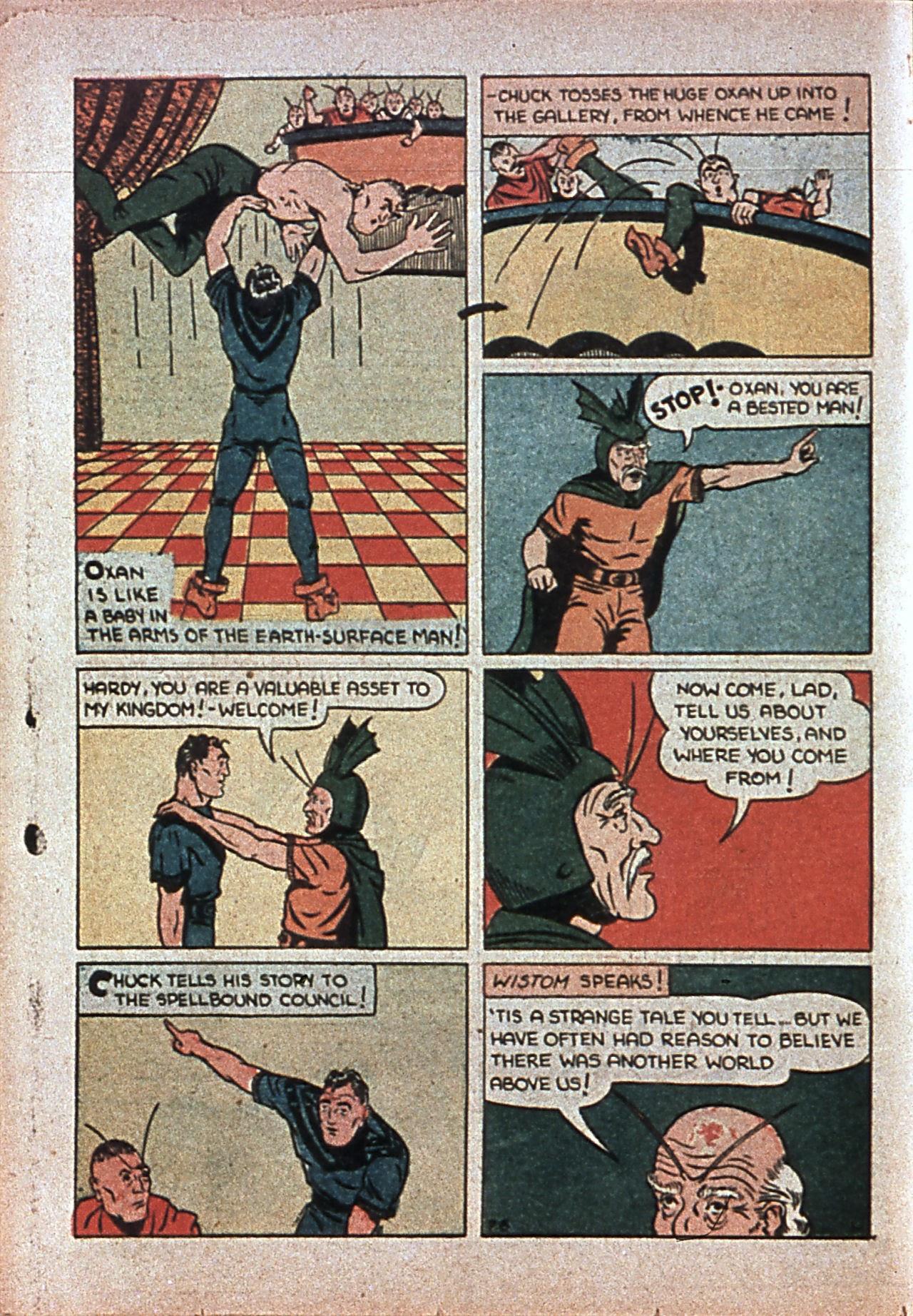 Read online Amazing Man Comics comic -  Issue #7 - 51