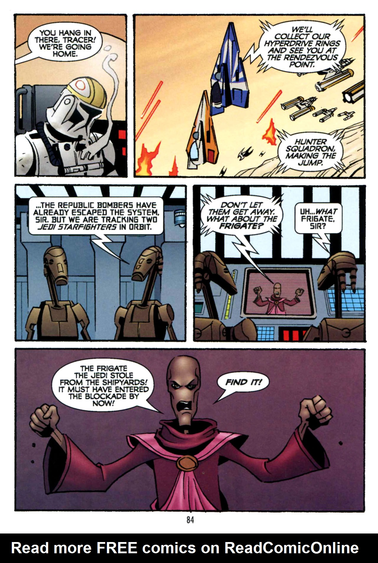 Read online Star Wars: The Clone Wars - Shipyards of Doom comic -  Issue # Full - 82