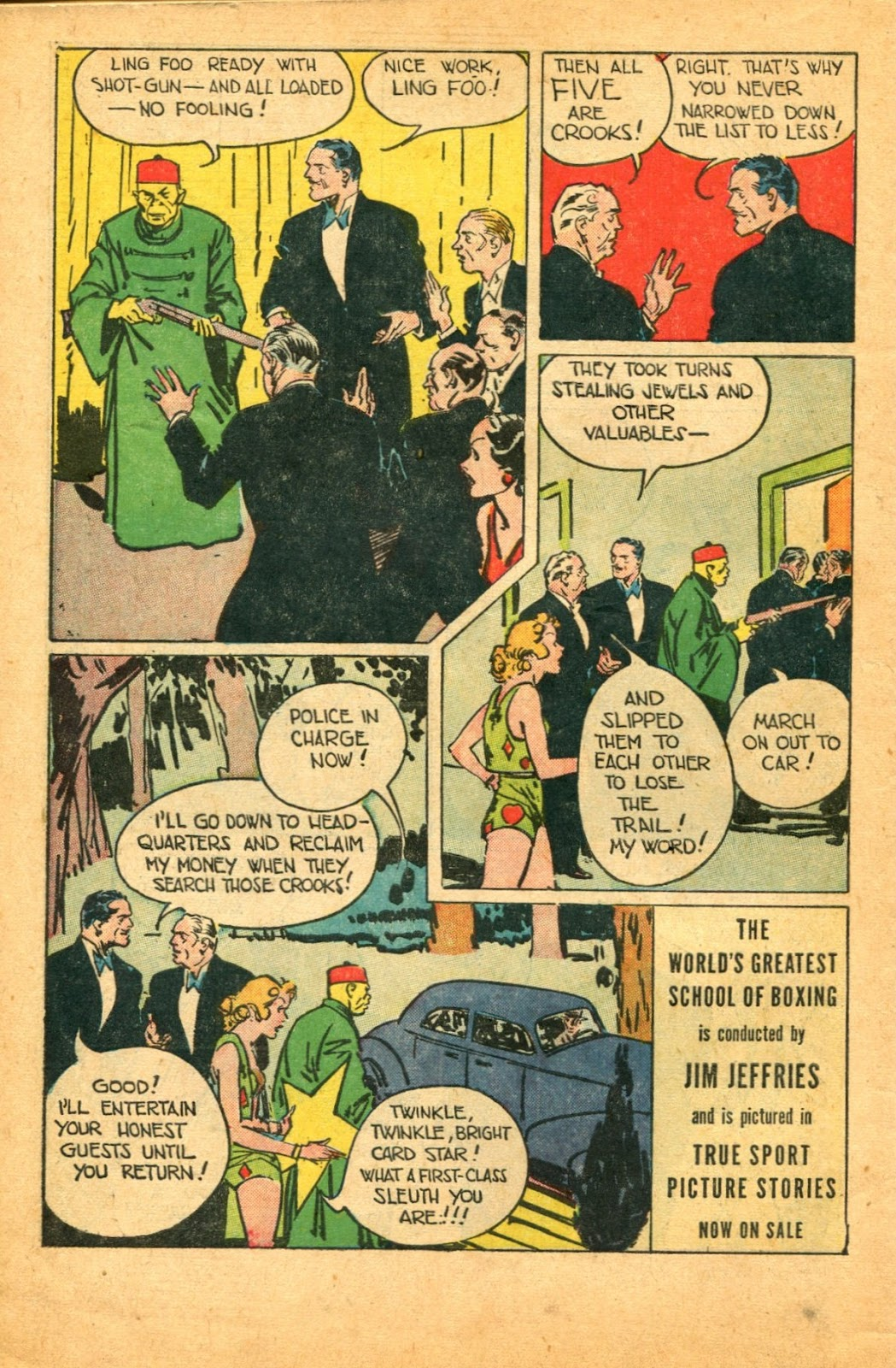 Read online Super-Magician Comics comic -  Issue #49 - 50